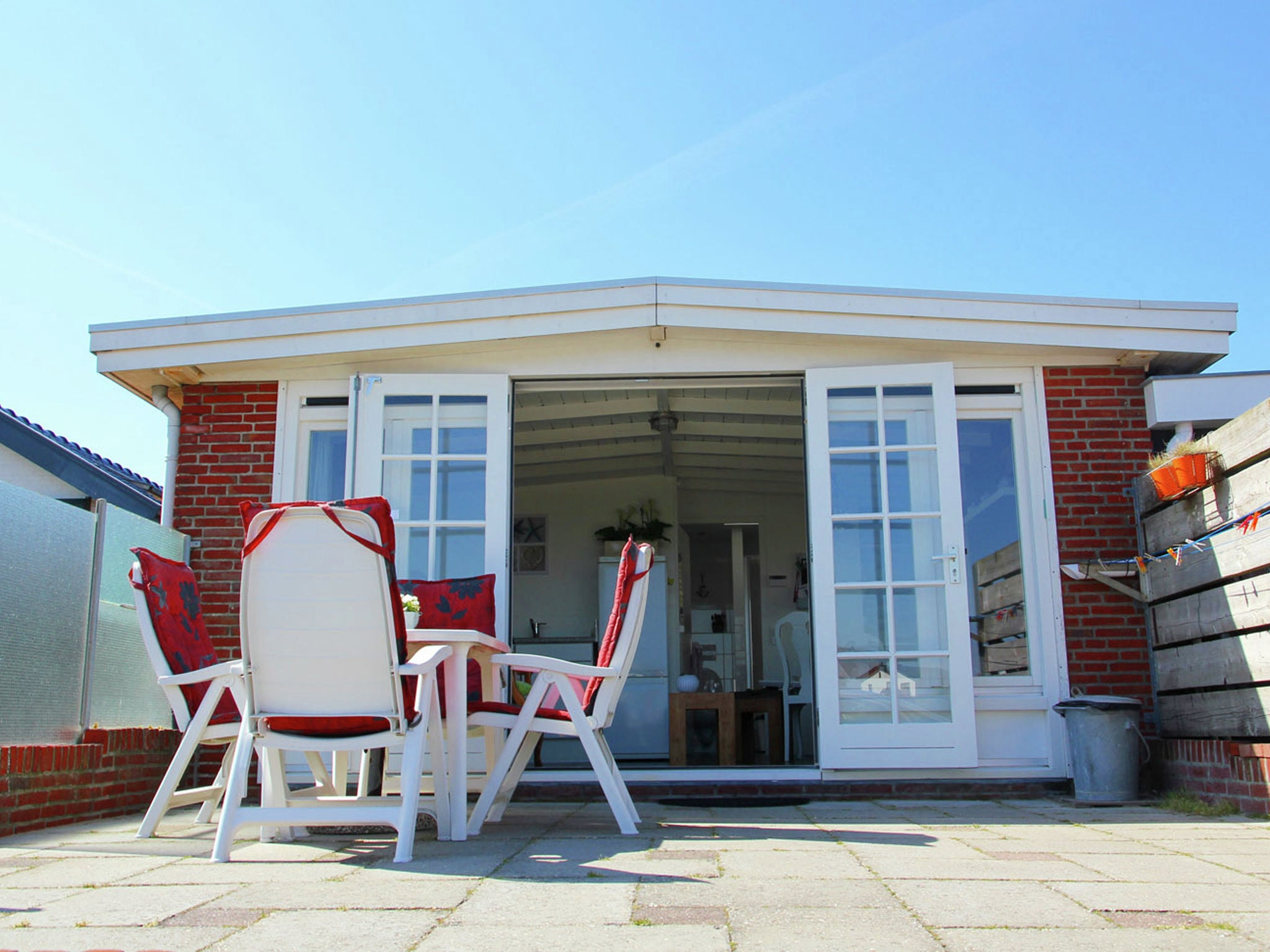 Holland | North Sea Coast North | Holiday home Egmonds Duintje | all year | TerraceBalcony