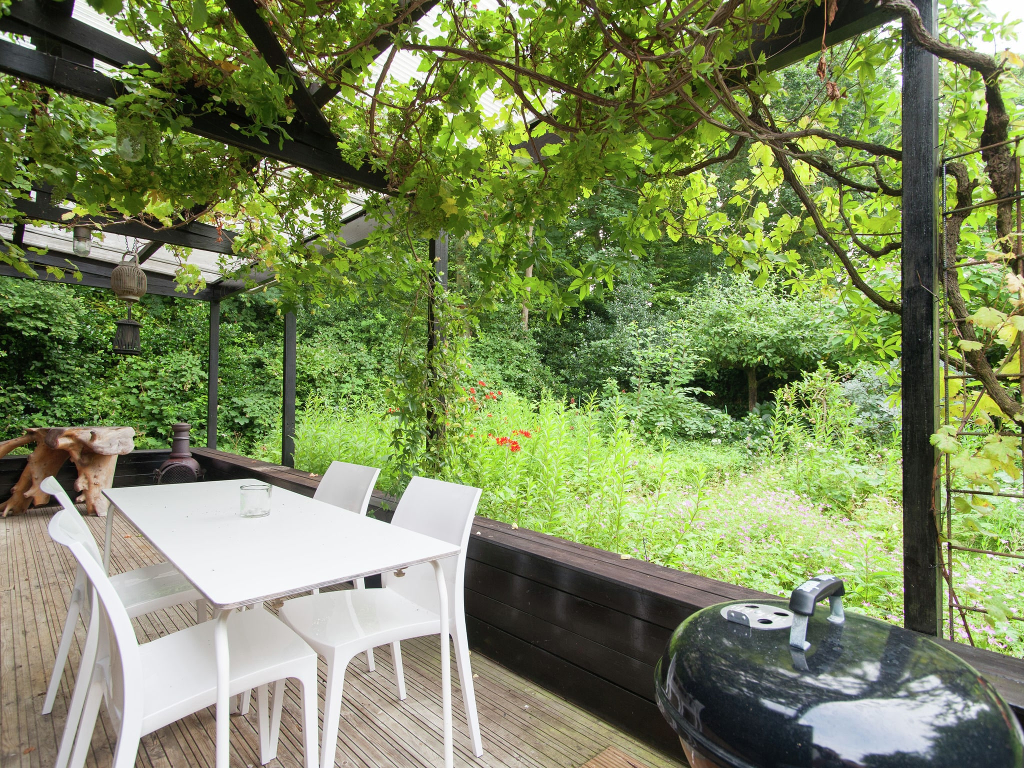 Holland | North Sea Coast North | Holiday home Romantiek in het Bos | all year | TerraceBalcony