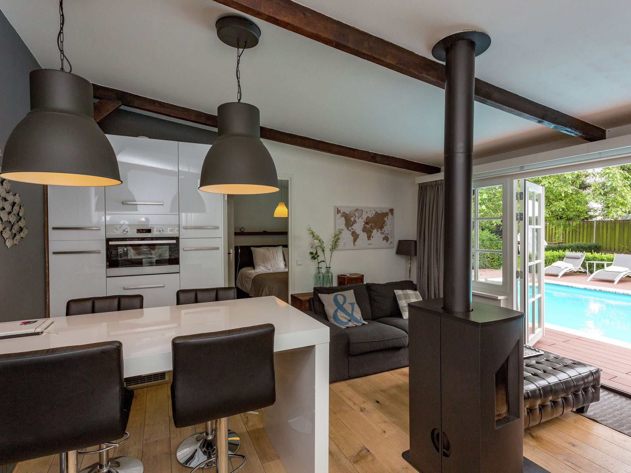 Holland | Noord-Brabant | Holiday home Poolhouse Golf en Brabant 4p | all year | LivingRoom
