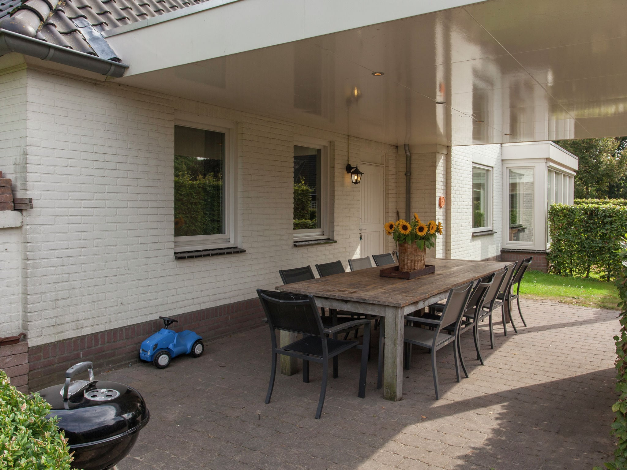 Holland | Noord-Brabant | Holiday home 't Witte Huis | all year | TerraceBalcony