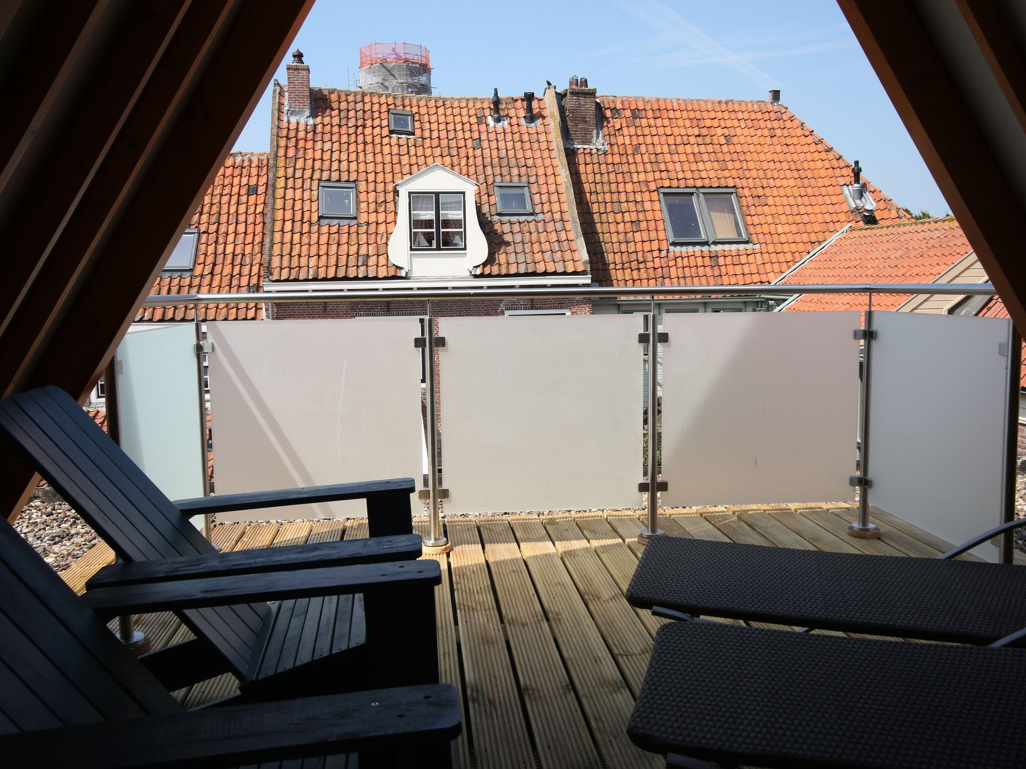 Holland | North Sea Coast North | Holiday home VOC-Huys | all year | TerraceBalcony