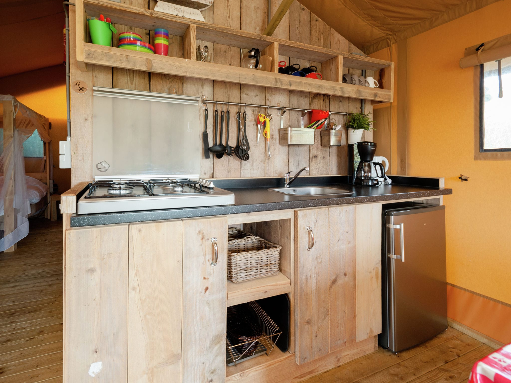 Holland | North Sea Coast North | Holiday home Sea Lodge Aan de Duinen | all year | Kitchen