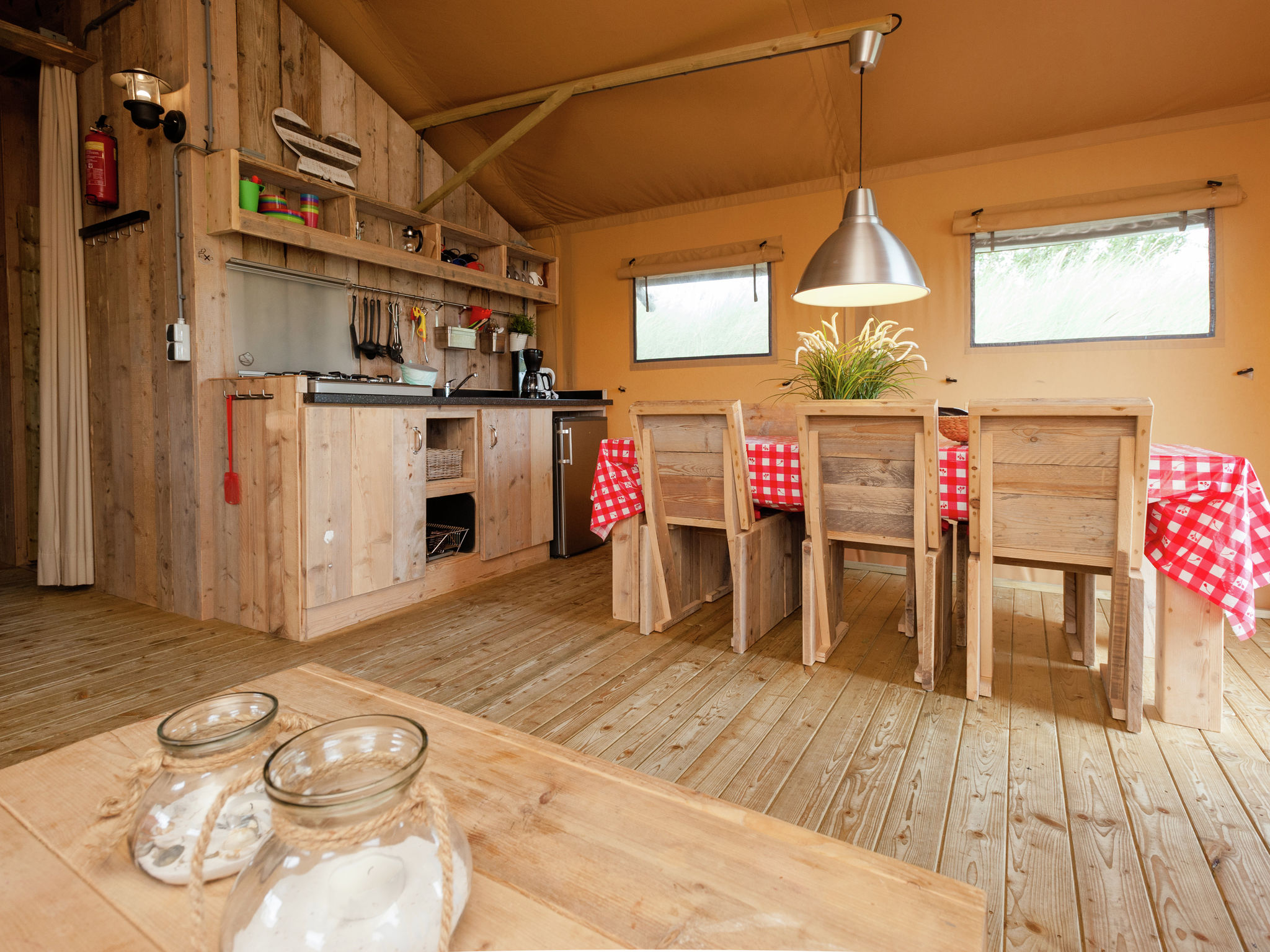 Holland | North Sea Coast North | Holiday home Sea Lodge Aan de Duinen | all year | DiningRoom