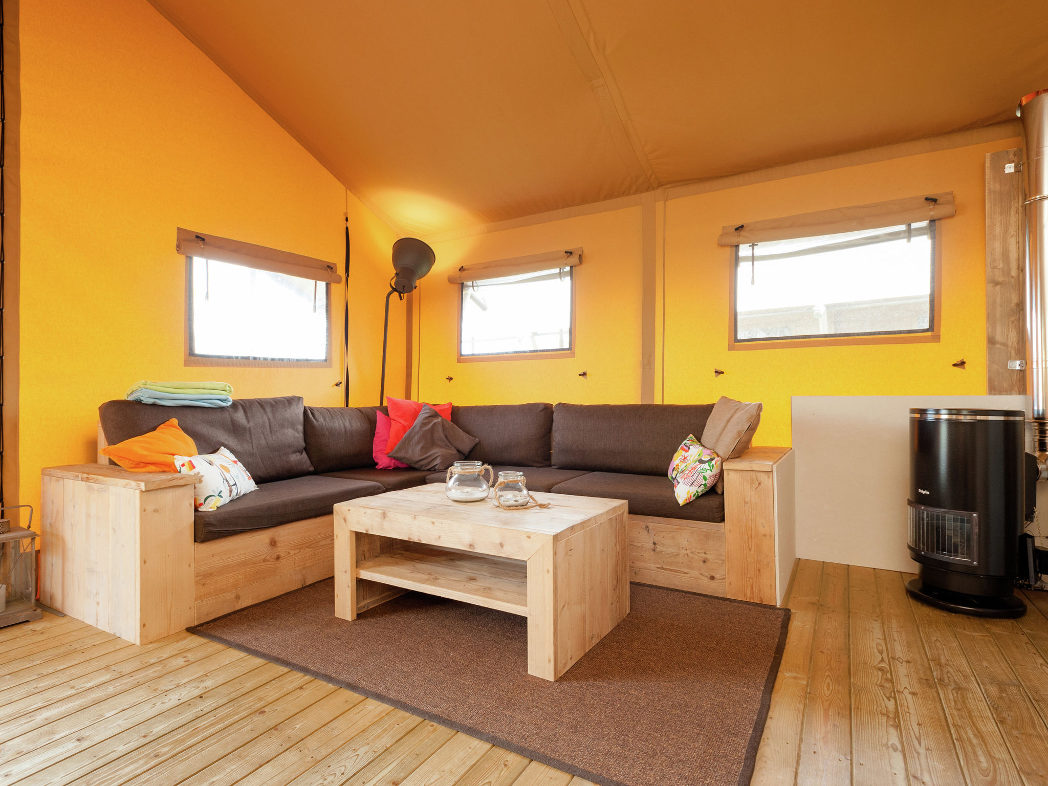 Holland | North Sea Coast North | Holiday home Sea Lodge Aan de Duinen | all year | LivingRoom