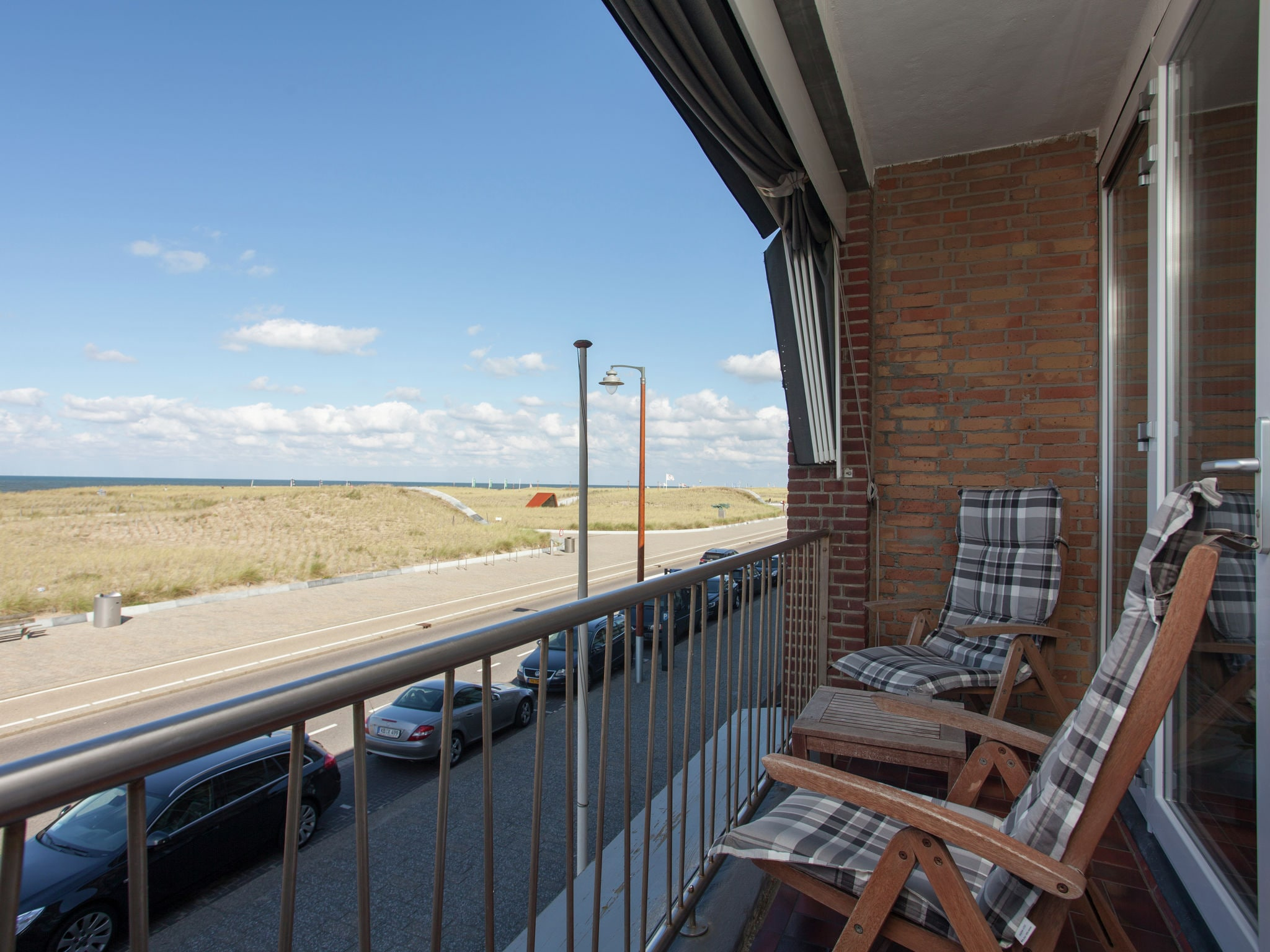 Holland | North Sea Coast South | Holiday home Zeezo | all year | TerraceBalcony