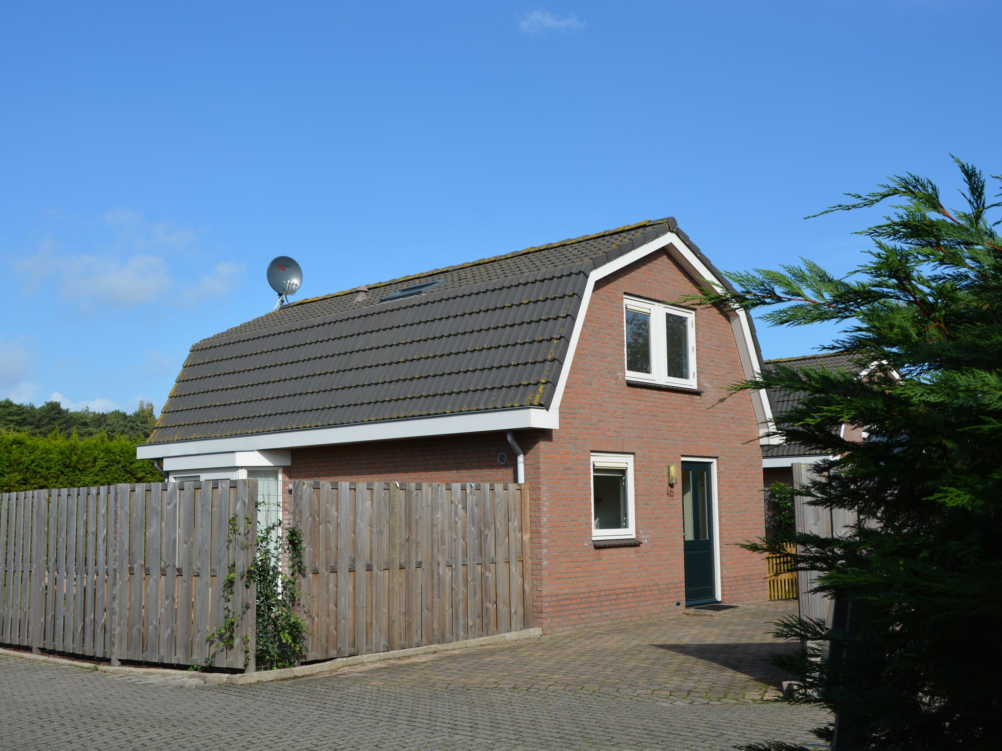 Holland | North Sea Coast South | Holiday home Vlinderhuisje | all year | ExteriorSummer
