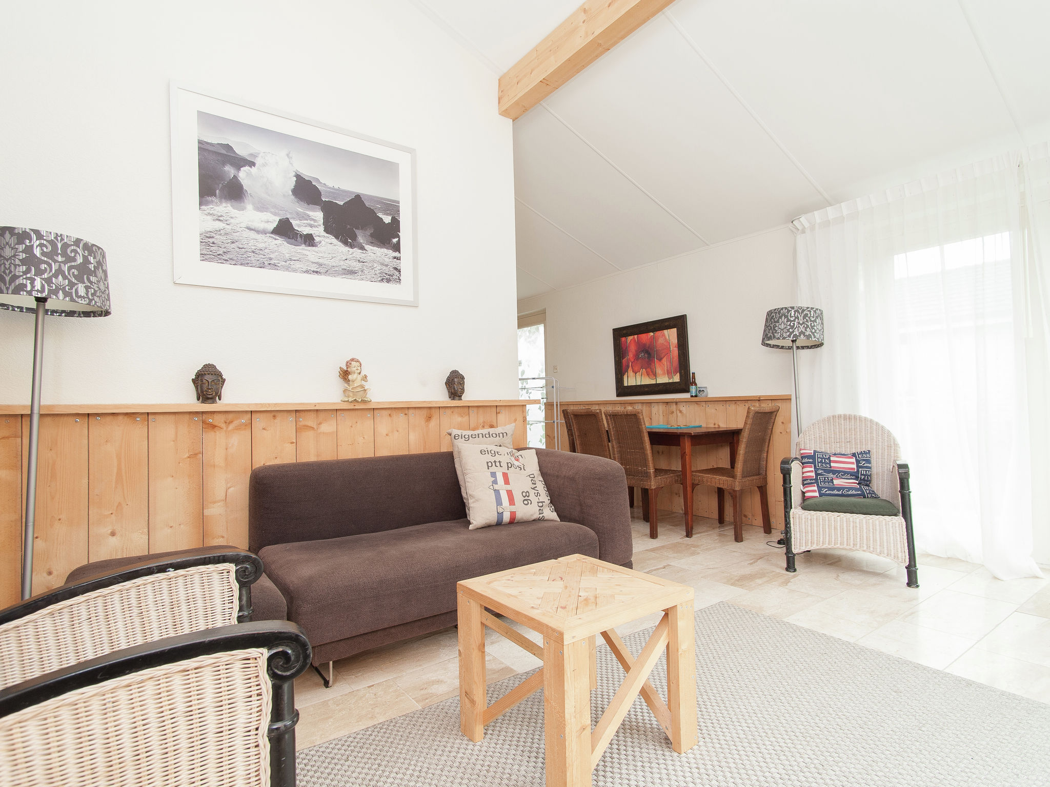 Holland | North Sea Coast North | Holiday home Cosy Petten | all year | LivingRoom