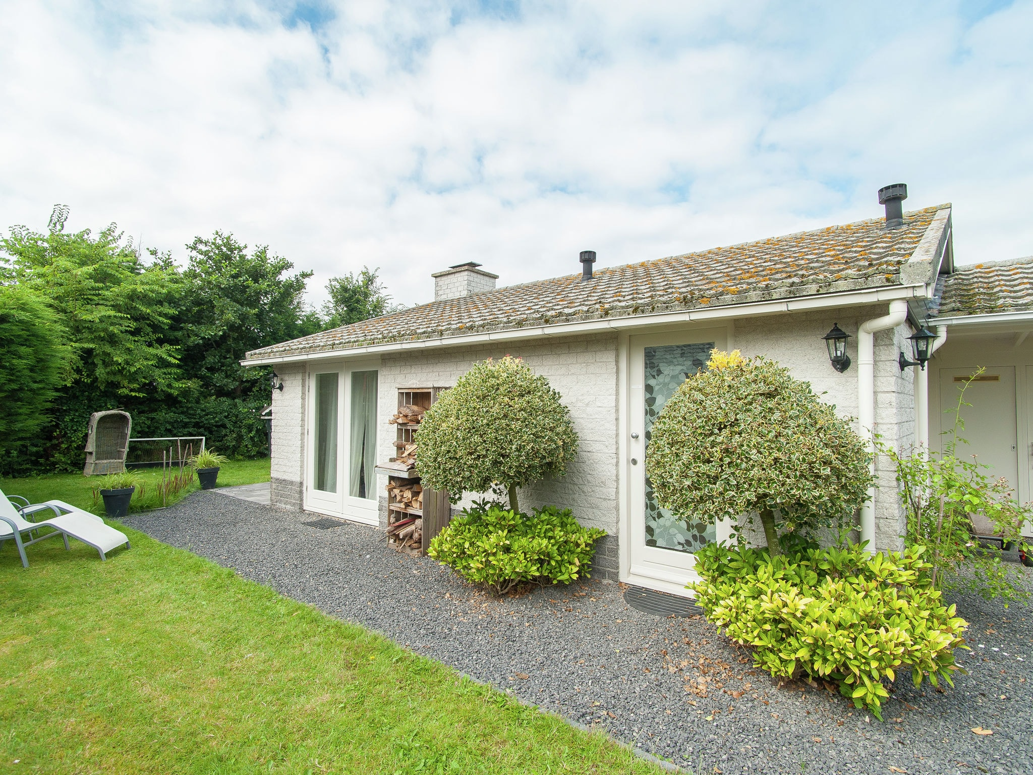 Holland | North Sea Coast North | Holiday home Cosy Petten | all year | ExteriorSummer