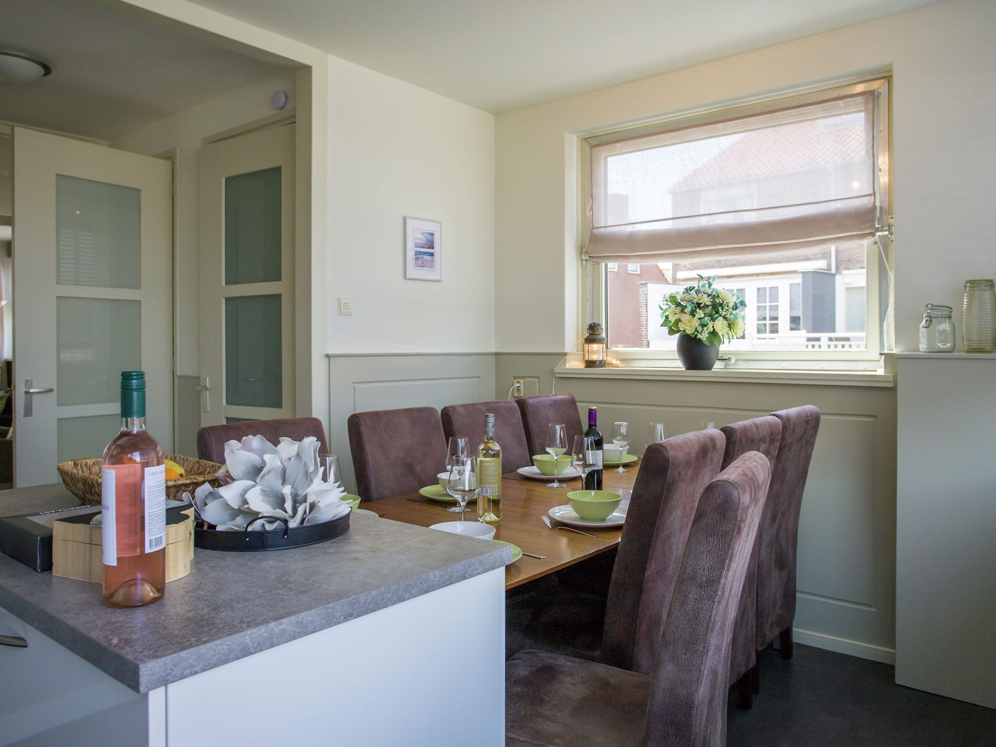 Holland | North Sea Coast South | Holiday home Strandhuis WS2 | all year | DiningRoom