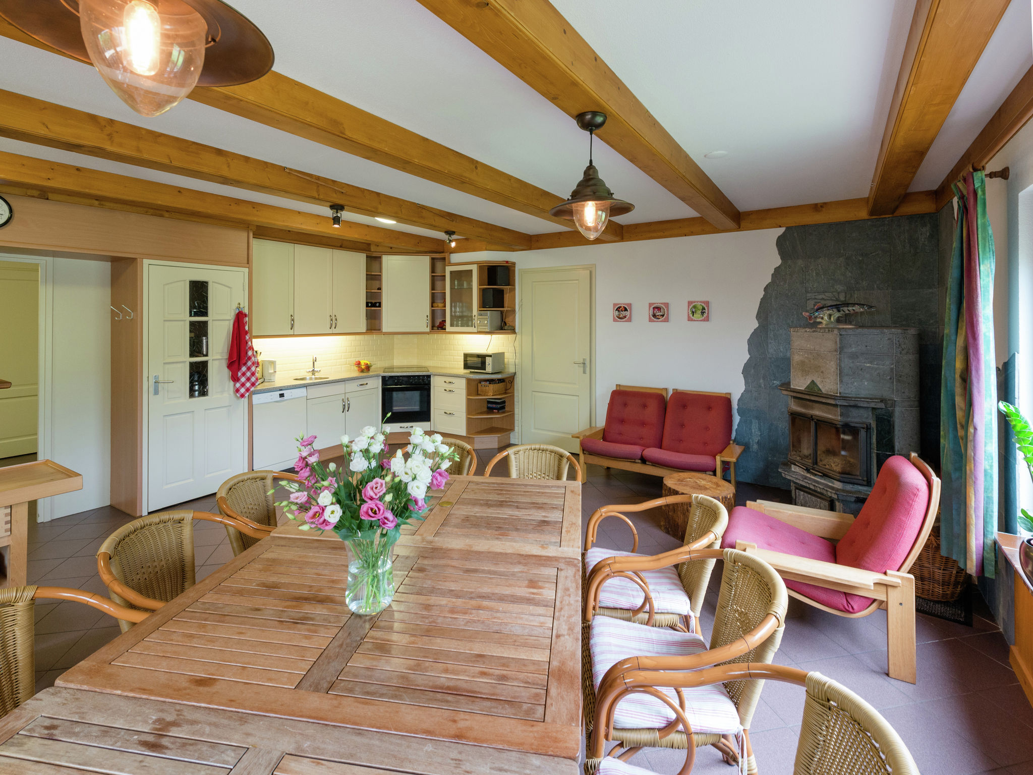 Holland | North Sea Coast North | Holiday home Landhuis Polderzicht | all year | DiningRoom