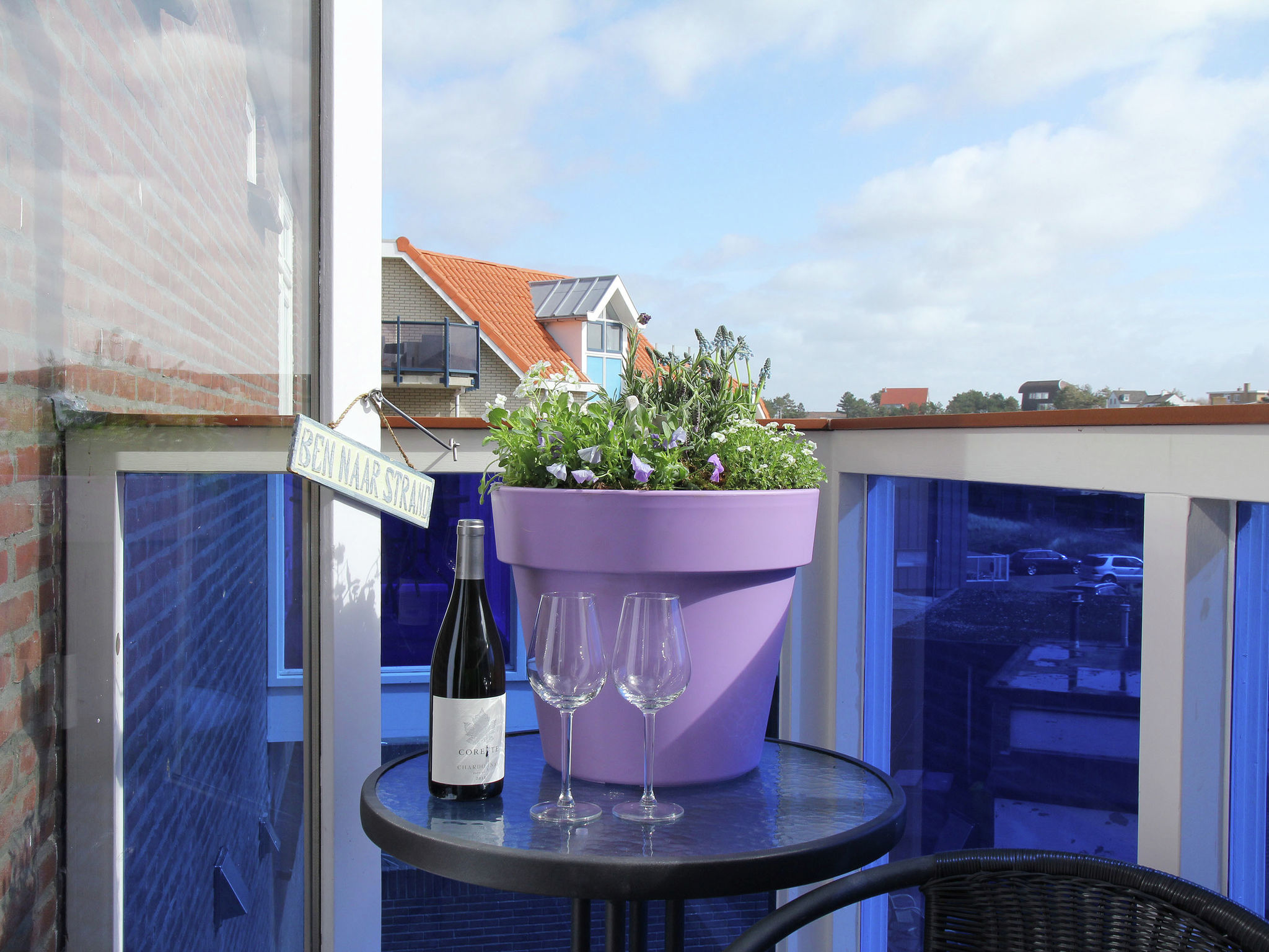 Holland | North Sea Coast North | Holiday home Near the Sea II | all year | TerraceBalcony