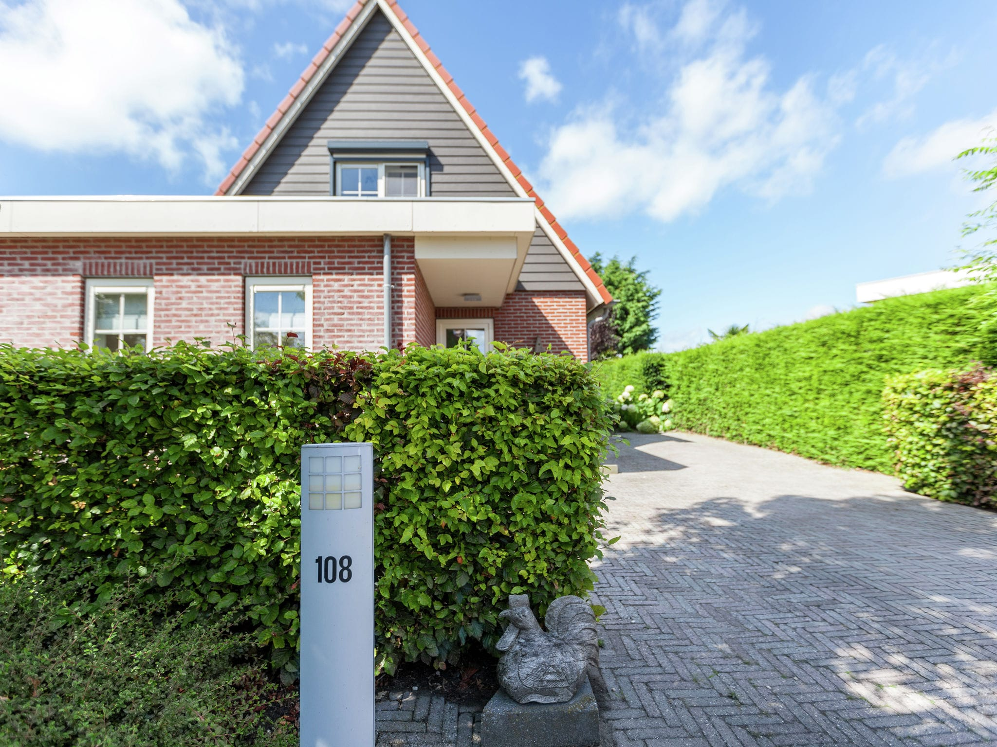 Holland | North Sea Coast South | Holiday home Drie Provinciepunt | all year | ExteriorSummer