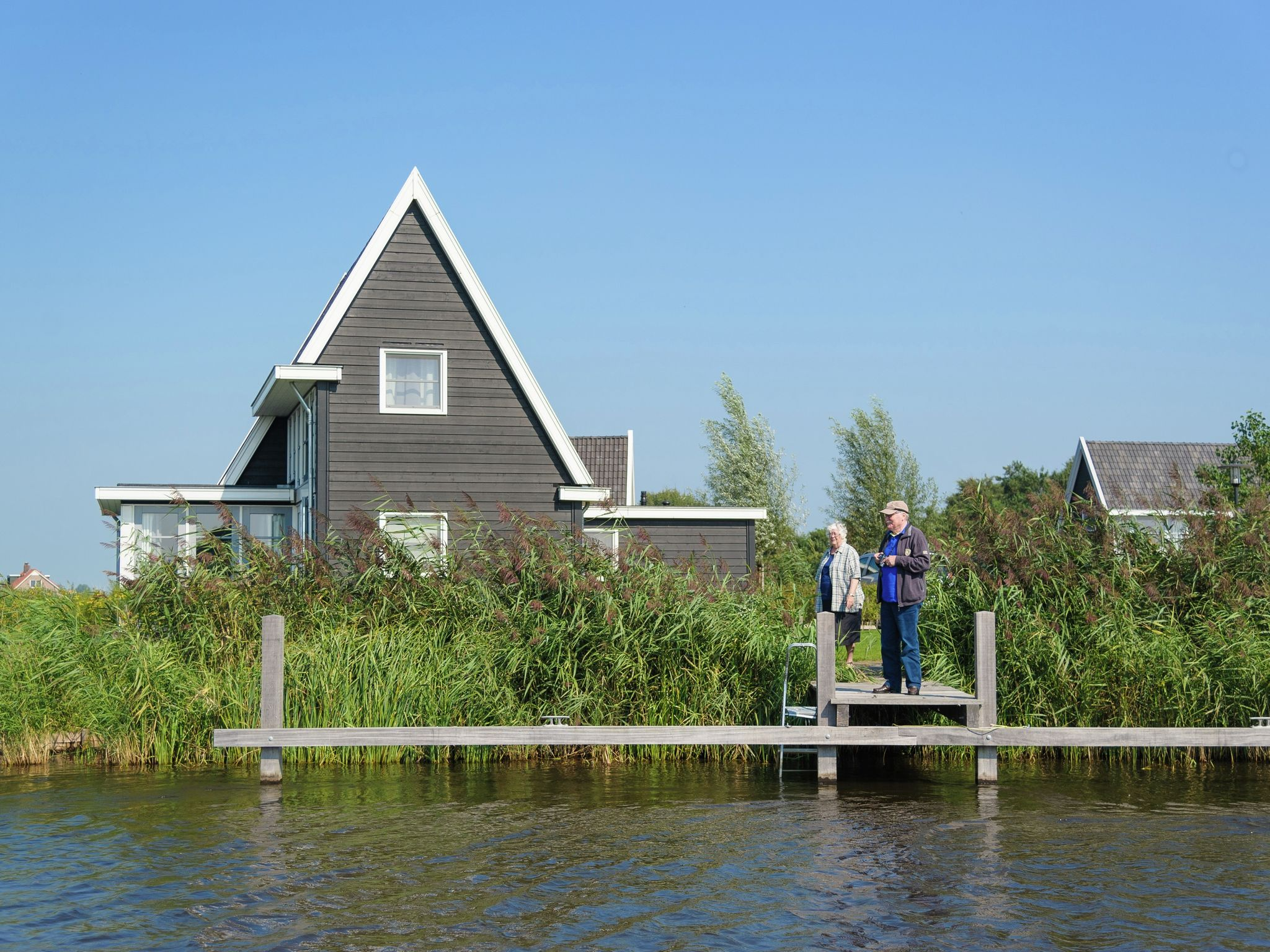 Holland | Overijssel | Holiday home Waterresort Bodelaeke - Ruimte aan 't Water | all year | ExteriorSummer