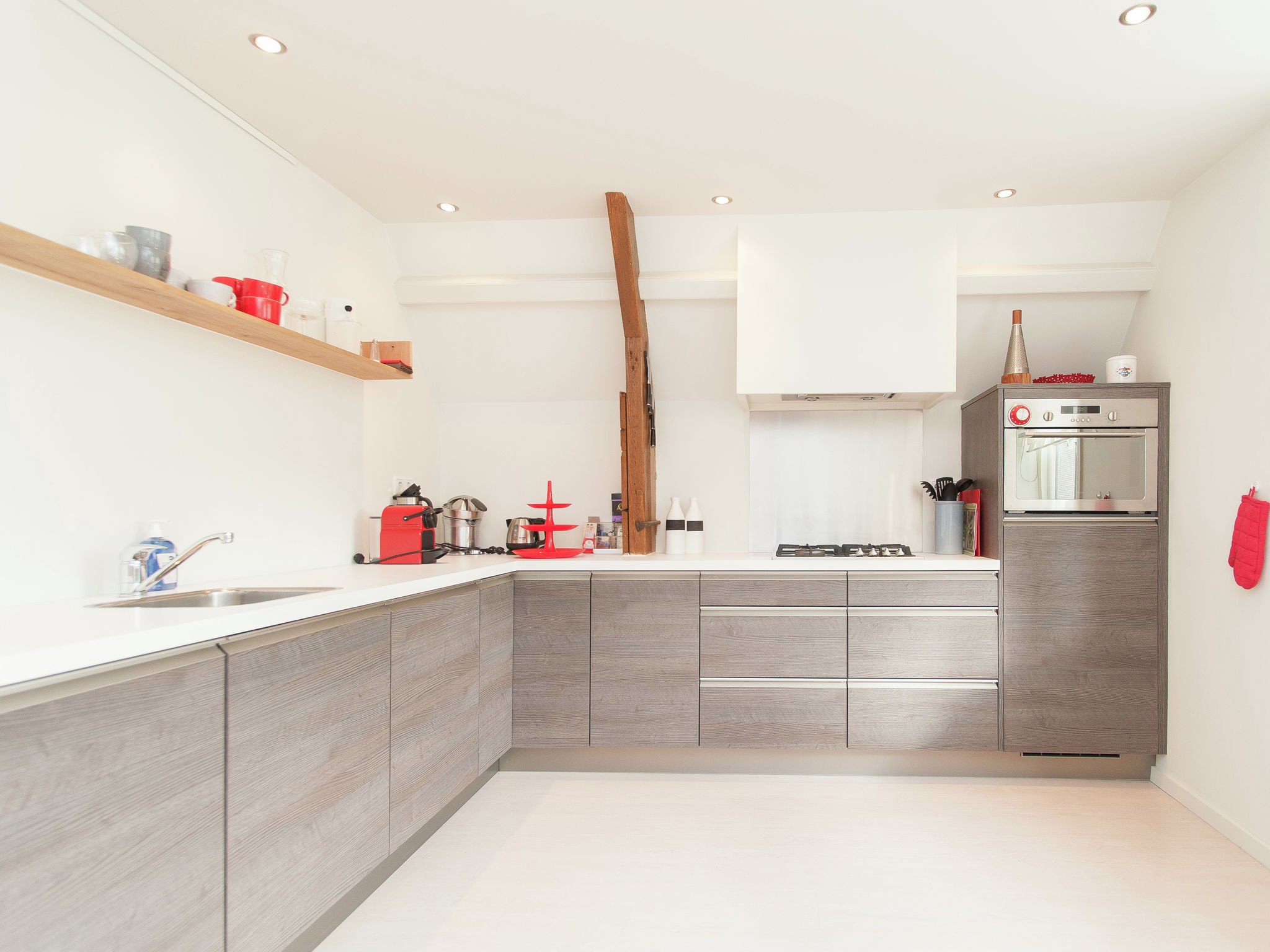 Holland | North Sea Coast North | Holiday home Hartje de Rijp | all year | Kitchen