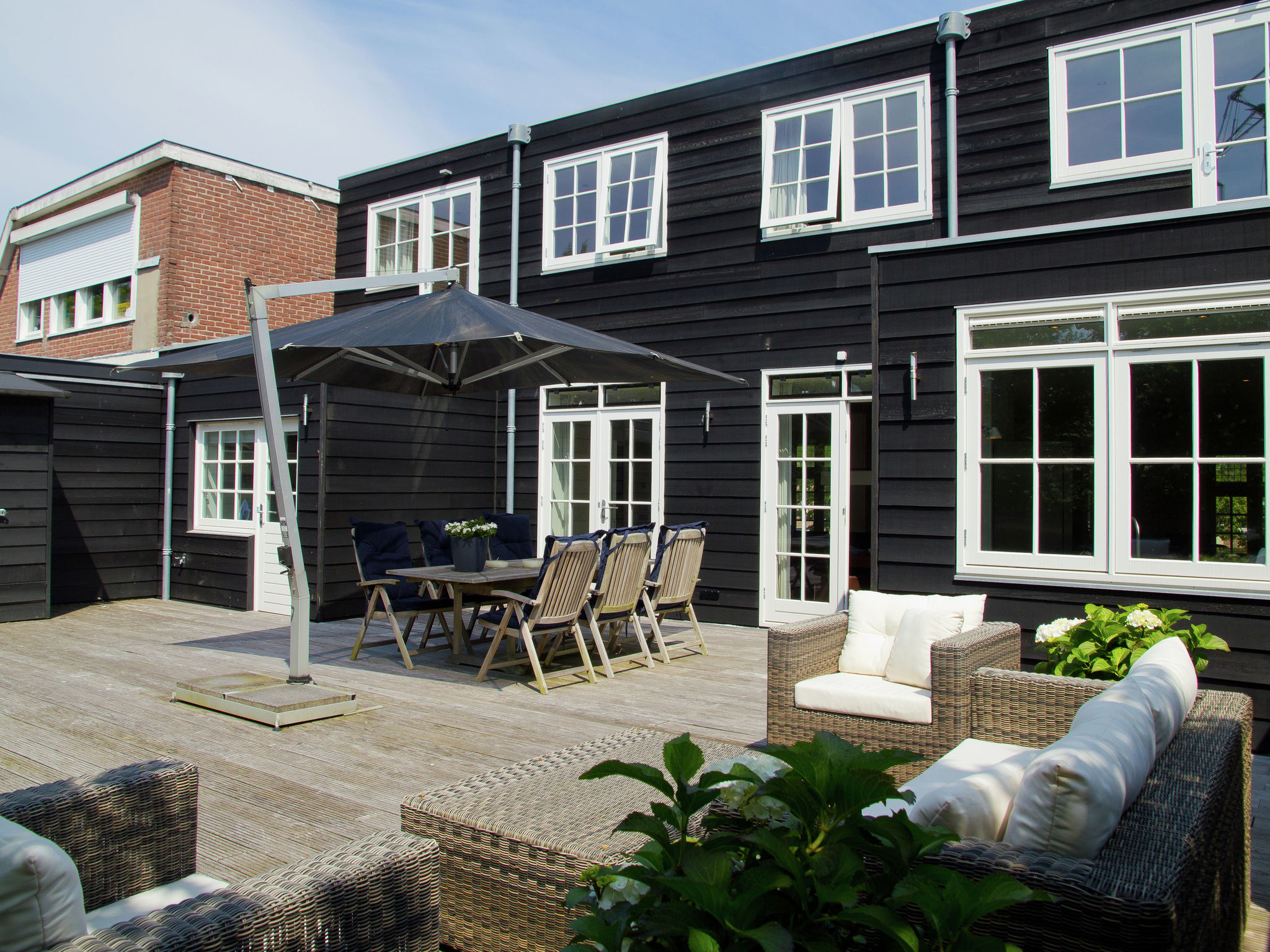 Holland | North Sea Coast North | Holiday home Penthouse Bergen | all year | ExteriorSummer