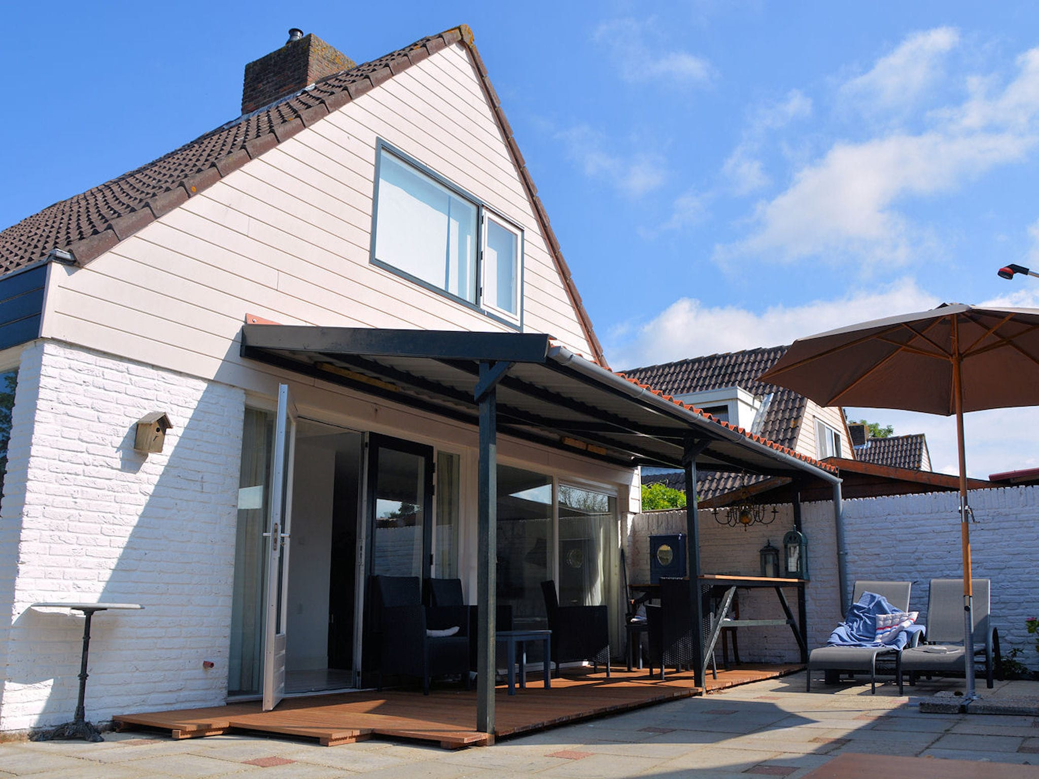 Holland | North Sea Coast South | Holiday home Marie aan Zee | all year | ExteriorSummer