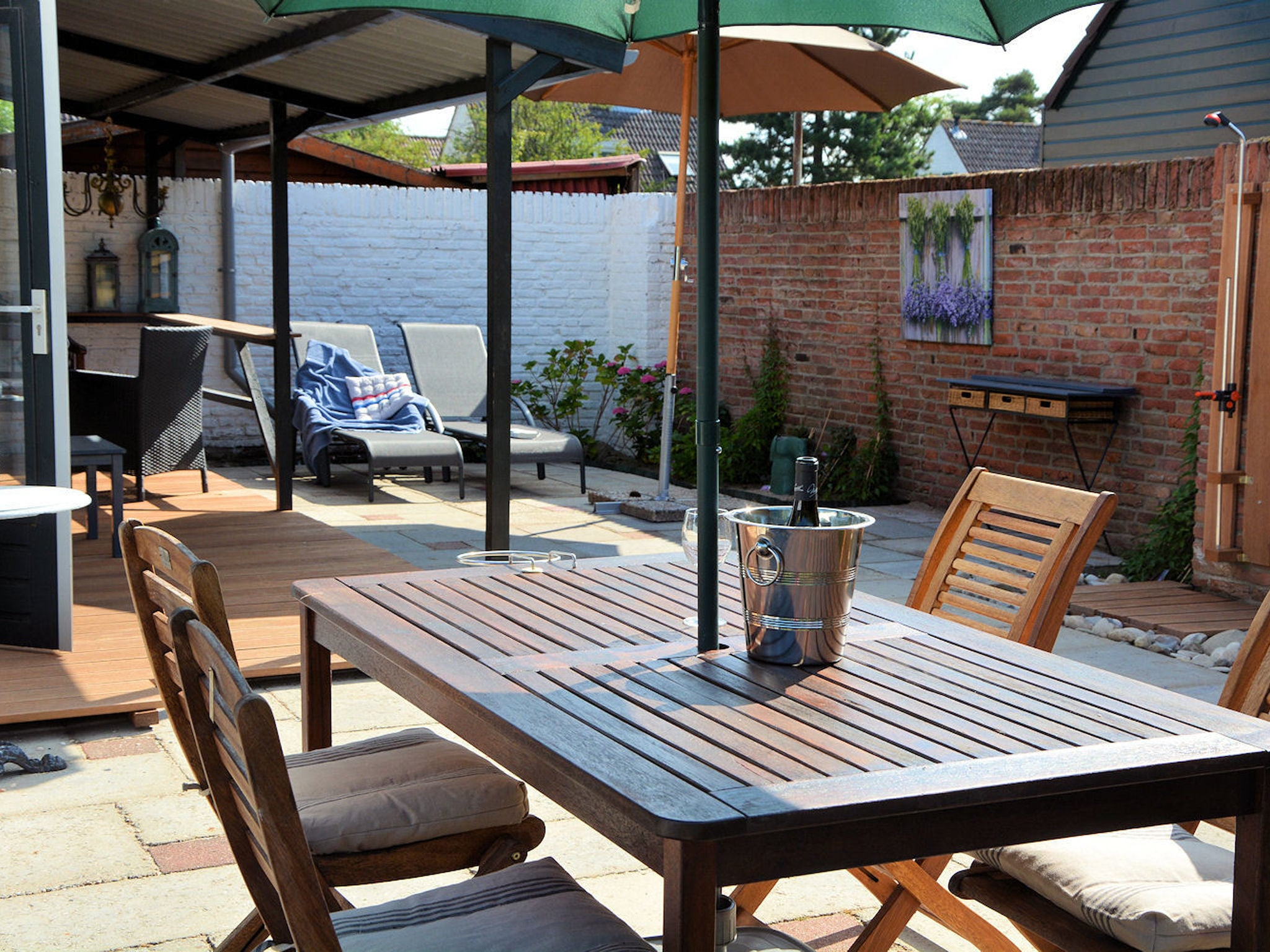 Holland | North Sea Coast South | Holiday home Marie aan Zee | all year | TerraceBalcony