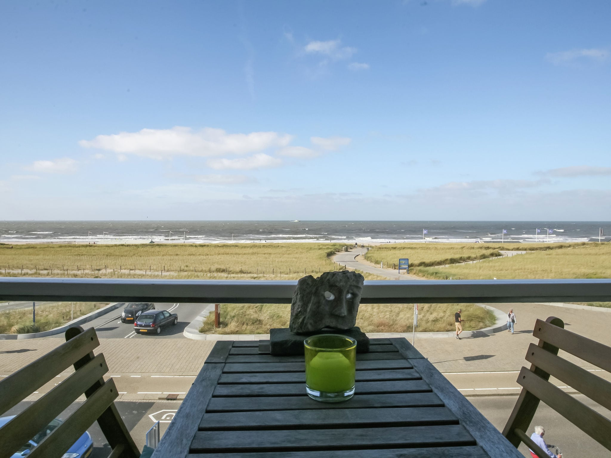 Holland | North Sea Coast South | Holiday home Zeezucht | all year | TerraceBalcony