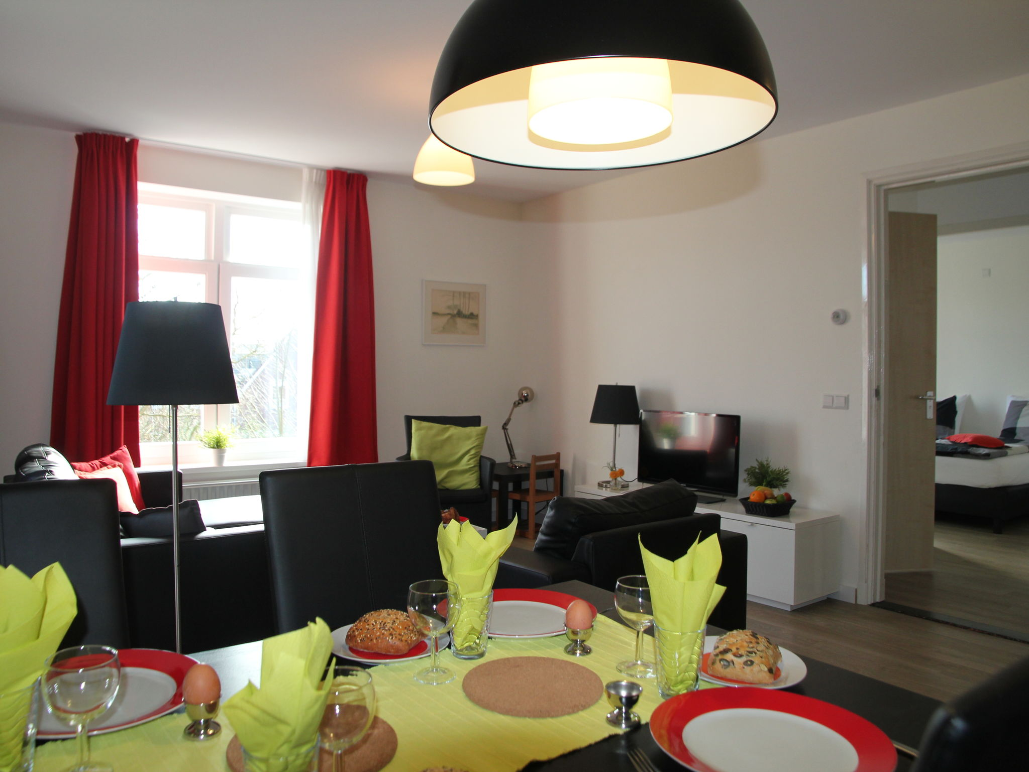 Holland | North Sea Coast North | Holiday home Cosy Egmond - Appartement 3 | all year | LivingRoom