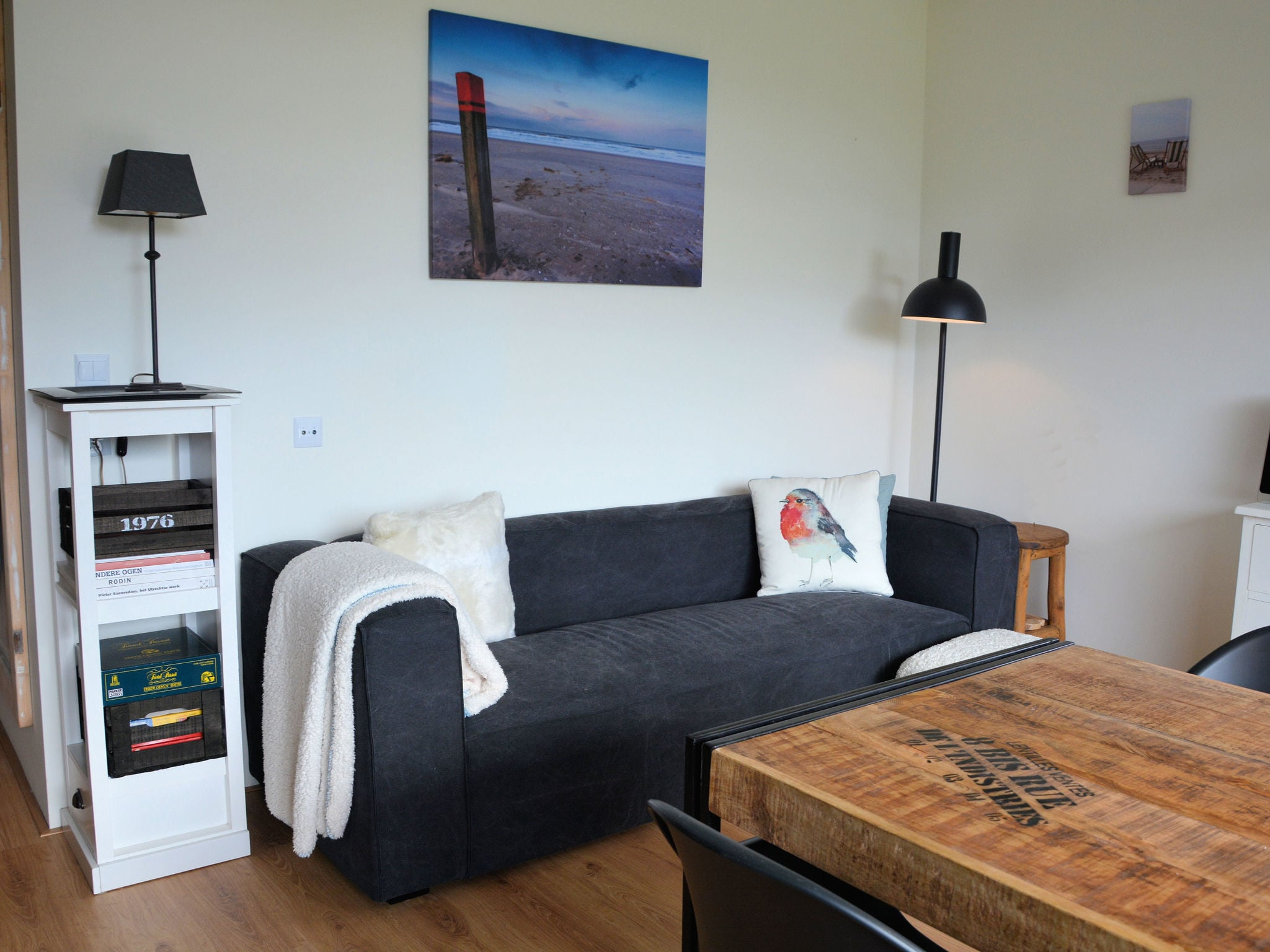 Holland | North Sea Coast South | Holiday home App12-M | all year | LivingRoom