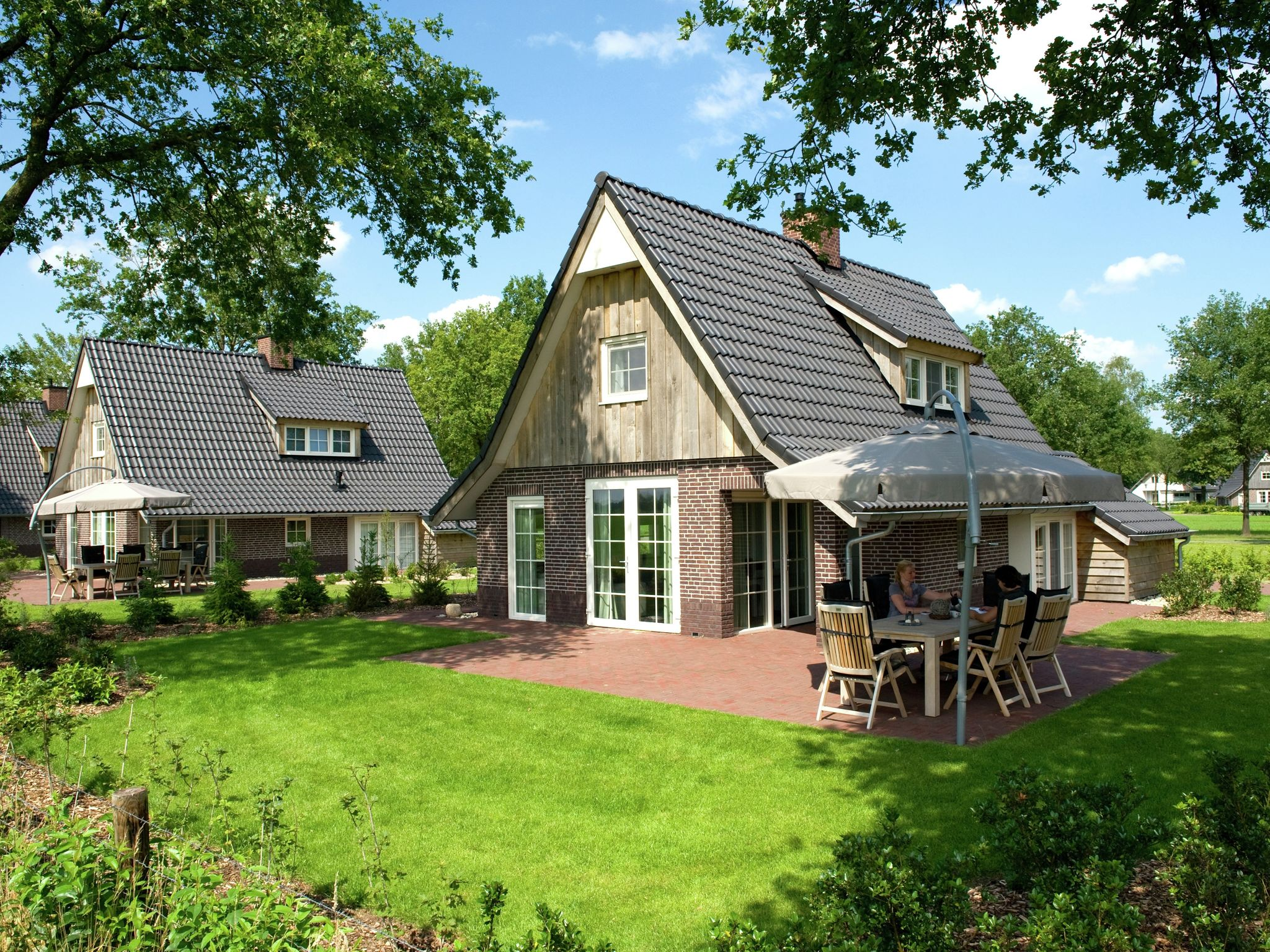 Holland | Overijssel | Holiday home Hof van Salland - Beukelaer XL wellness 6 persoons | all year | ExteriorSummer