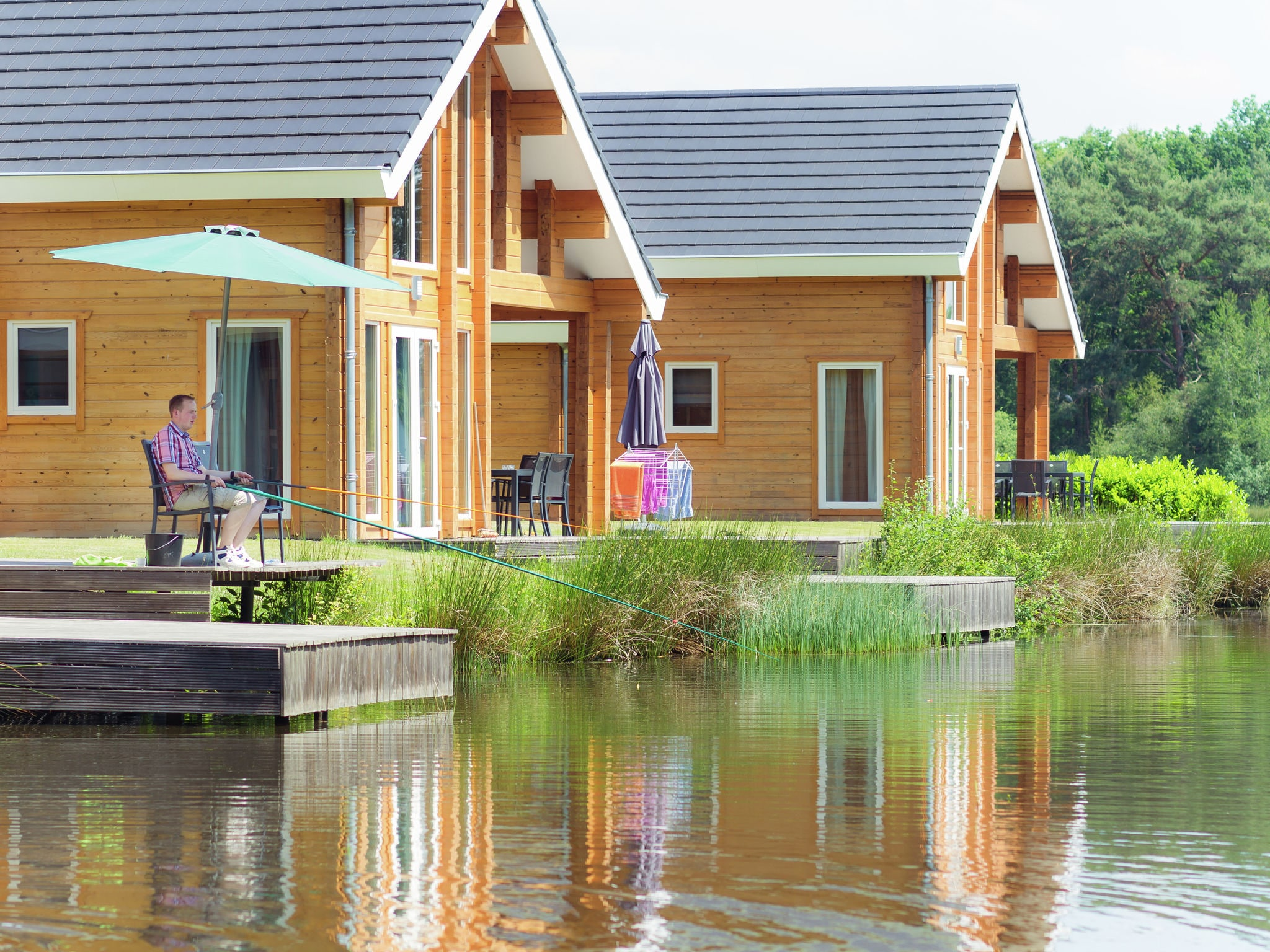 Holland | Limburg | Holiday home Heelderpeel - Narvik Wellnessvilla Dalvik 4 | all year | ExteriorSummer