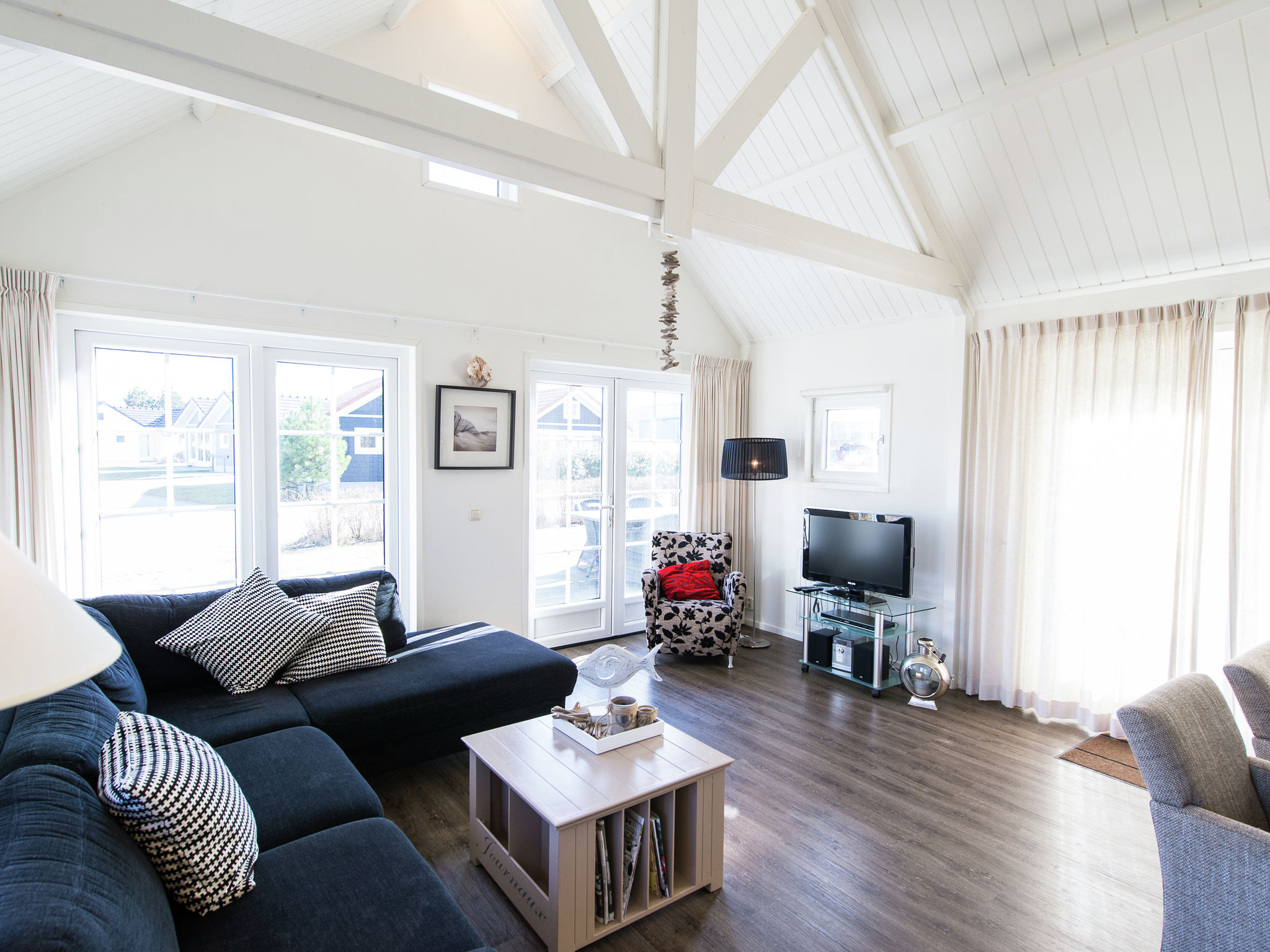 Holland | Wad Islands | Holiday home Boomhiemke - Strandjutter 4-pers | all year | LivingRoom