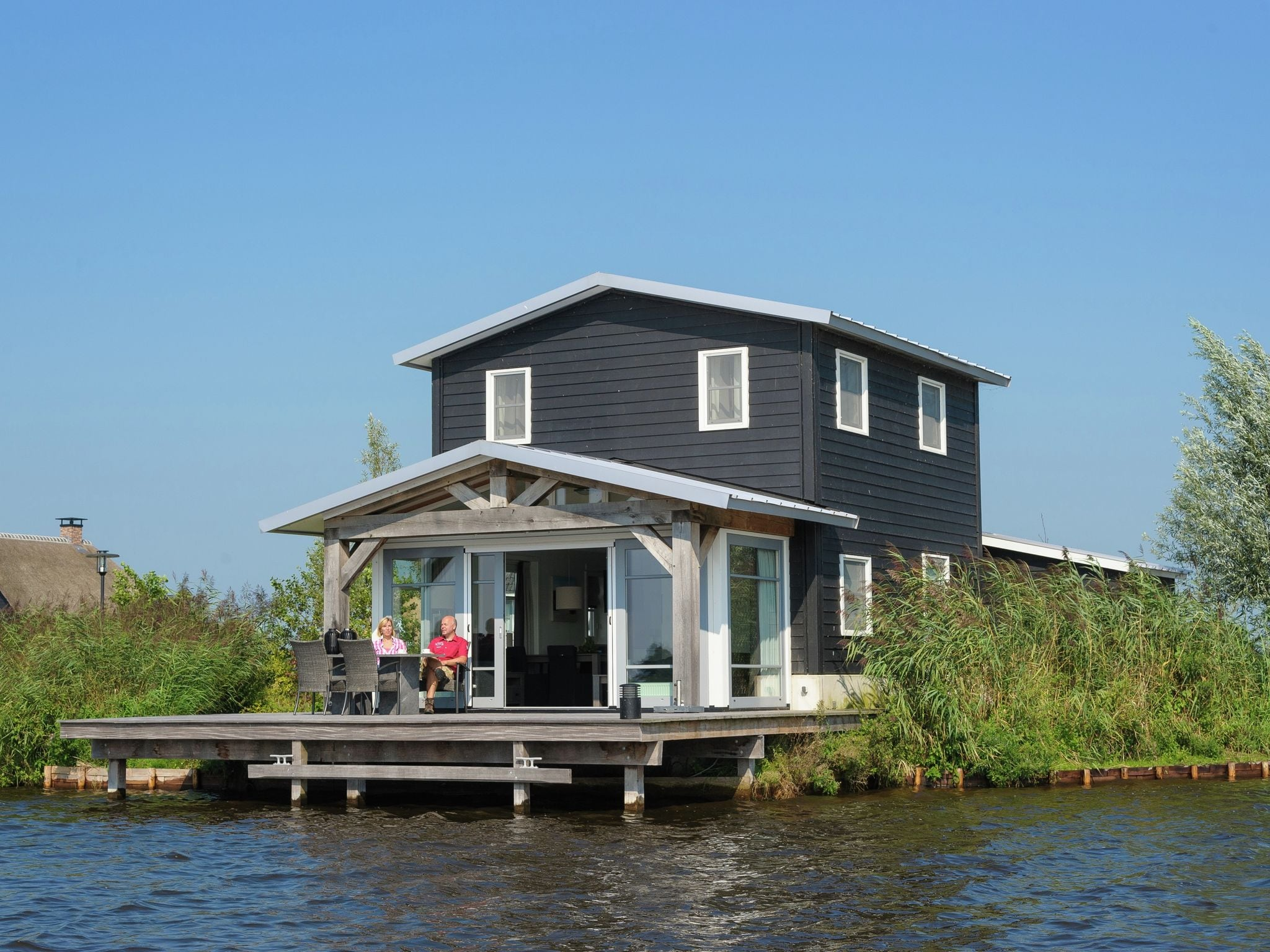 Holland | Overijssel | Holiday home Waterresort Bodelaeke - In 't Riet 4p | all year | ExteriorSummer