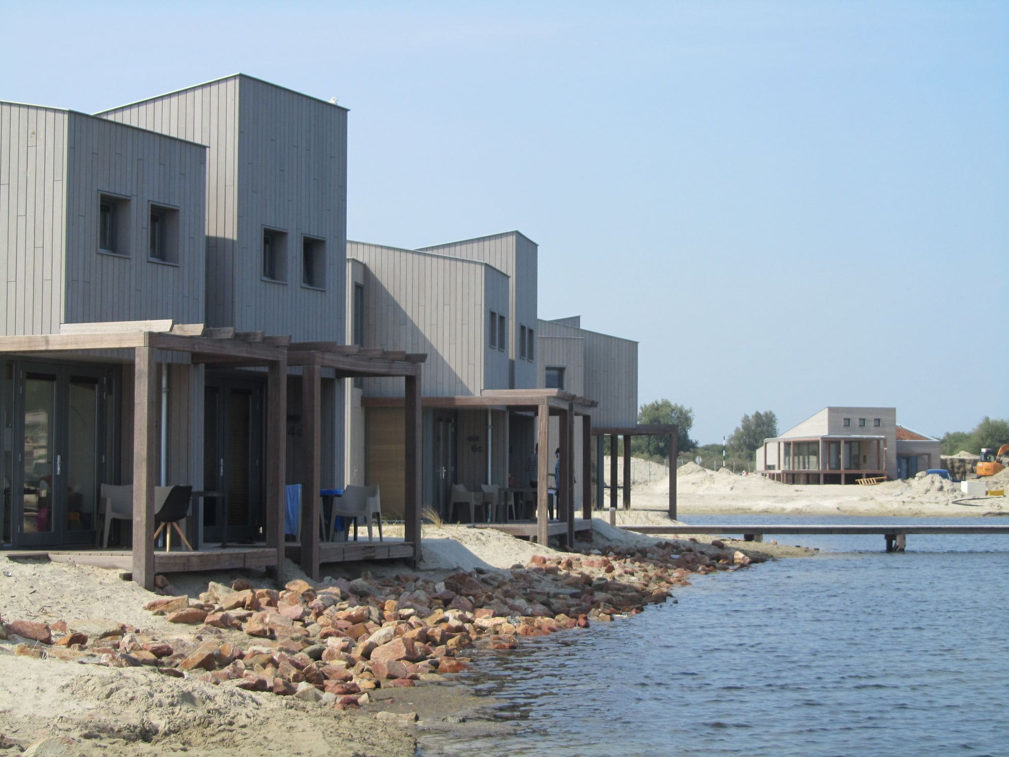 Holland | North Sea Coast South | Holiday home Punt-West Hotel & Beachresort - Vistamare 2-pers | all year | TerraceBalcony