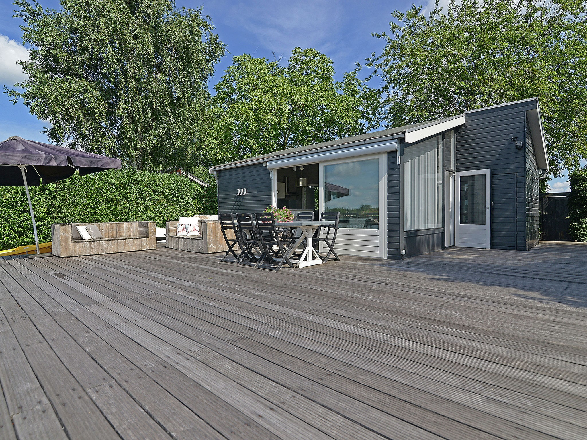 Holland | North Sea Coast South | Holiday home Waterpracht | all year | GardenSummer