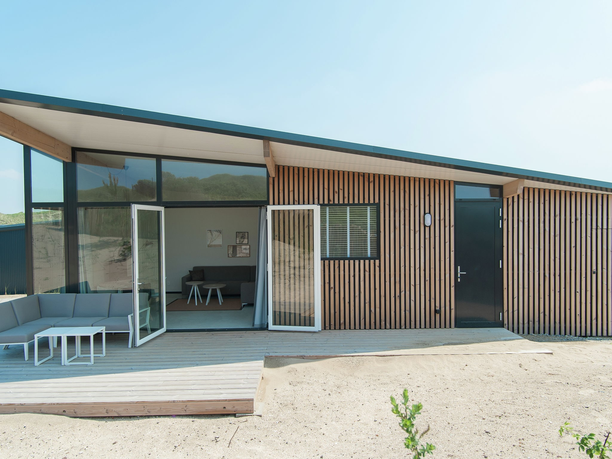 Holland | North Sea Coast North | Holiday home Sea Lodge Comfort met de hond | all year | ExteriorSummer