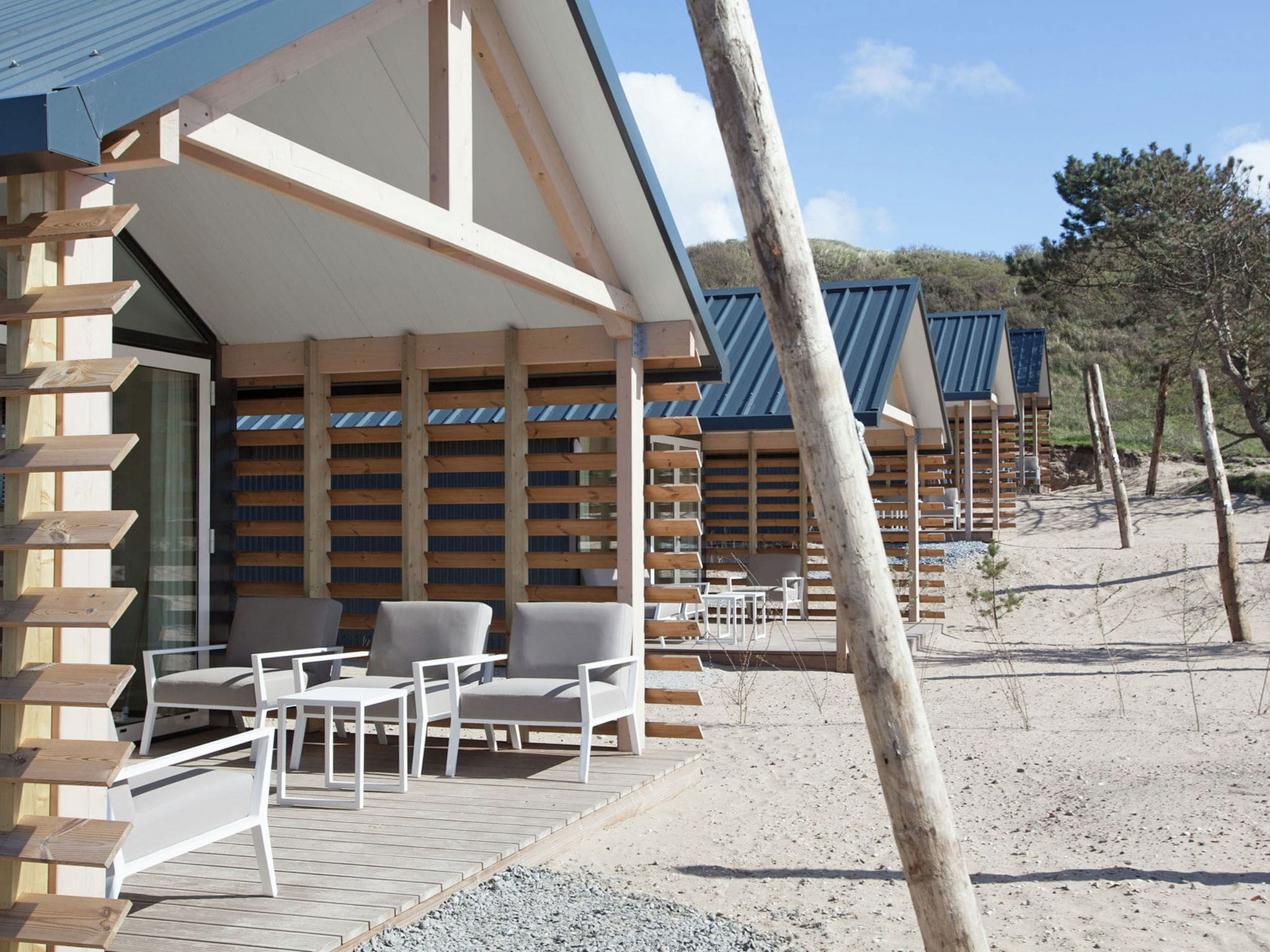 Holland | North Sea Coast North | Holiday home Sea Lodge met de hond | all year | GardenSummer