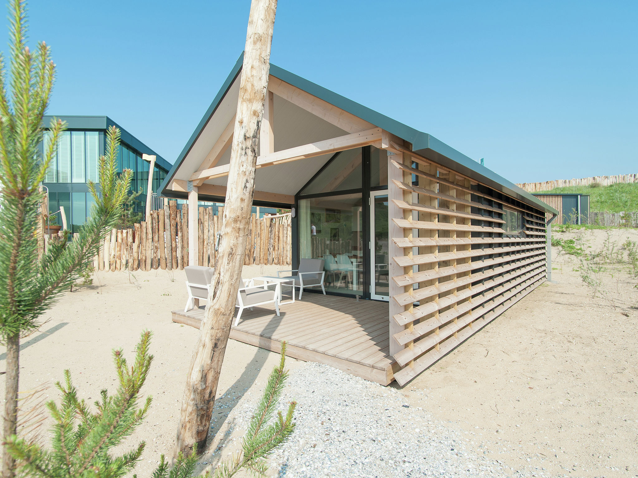 Holland | North Sea Coast North | Holiday home Sea Lodge met de hond | all year | ExteriorSummer