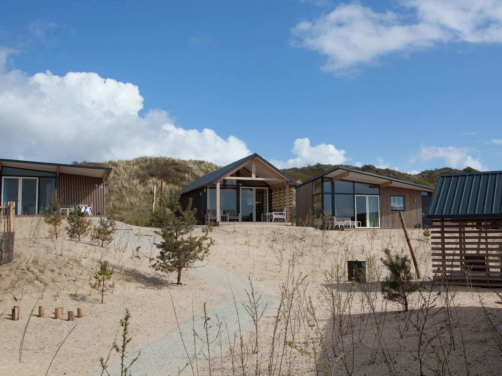 Holland | North Sea Coast North | Holiday home Sea Lodge Family met de hond | all year | GardenSummer