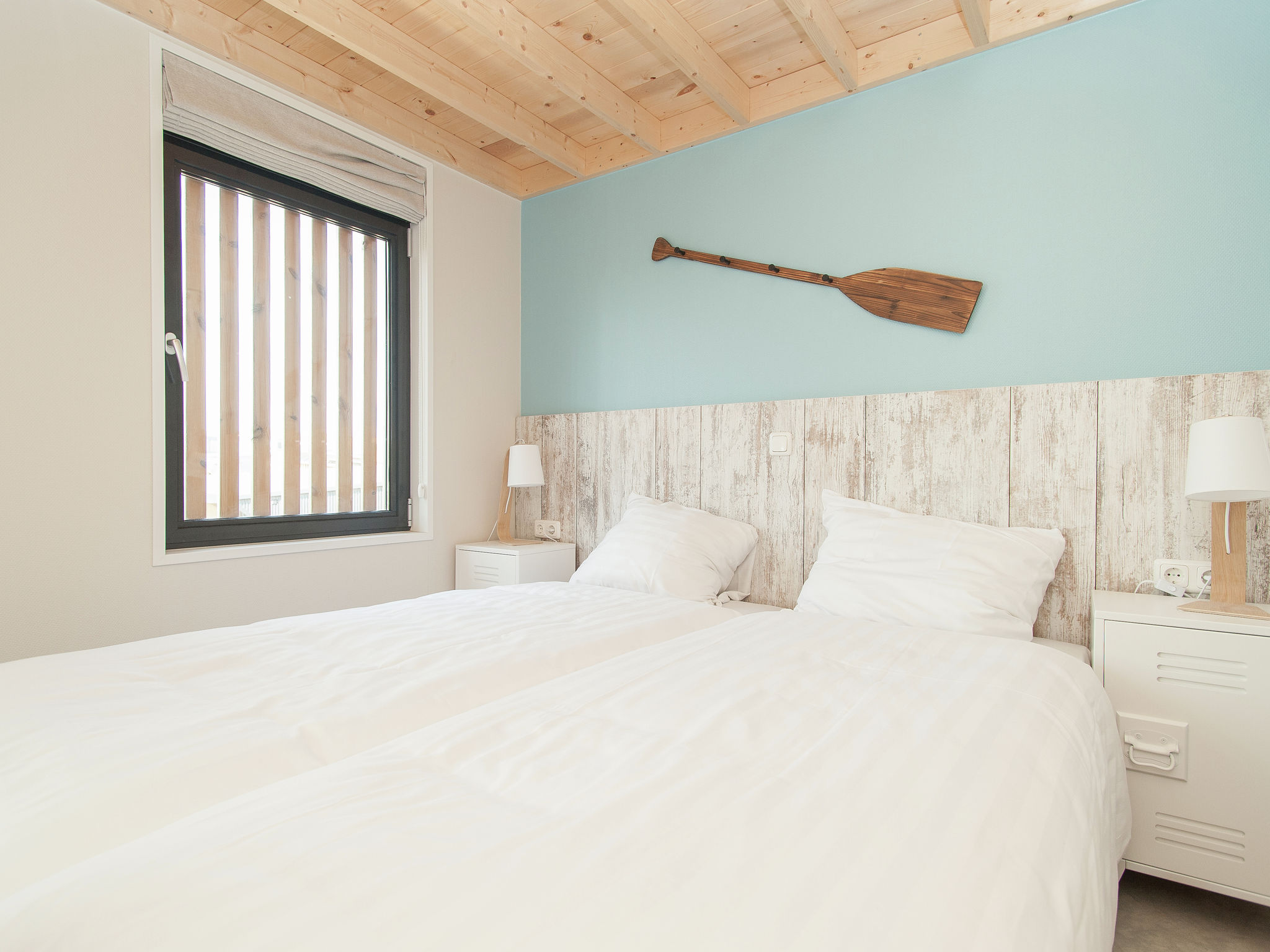 Holland | North Sea Coast North | Holiday home Sea Lodge Family met de hond | all year | BedRoom