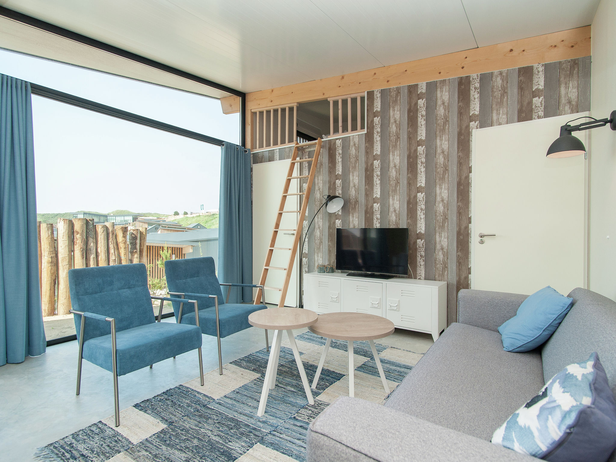 Holland | North Sea Coast North | Holiday home Sea Lodge Family met de hond | all year | LivingRoom