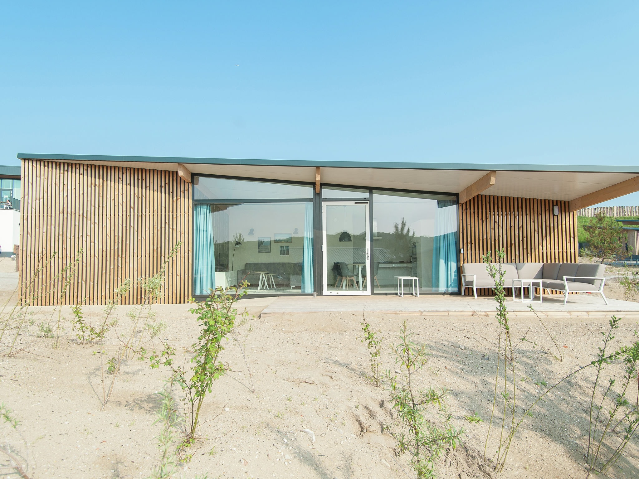 Holland | North Sea Coast North | Holiday home Sea Lodge Bloemendaal Special | all year | ExteriorSummer