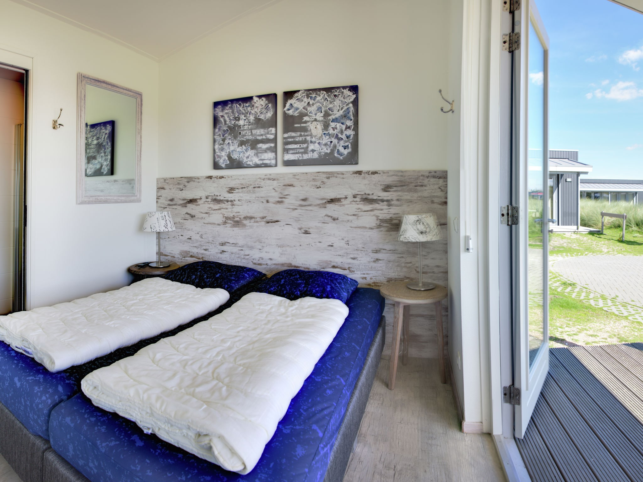 Holland | Wad Islands | Holiday home Boomhiemke - Duinlodge | all year | BedRoom