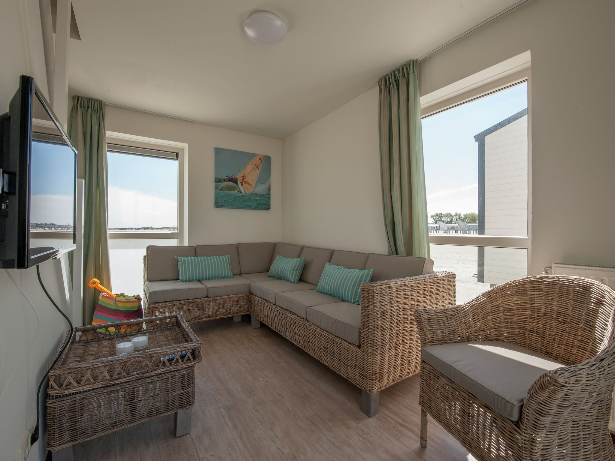 Holland | Zeeland | Holiday home Vakantiepark Beach Resort - Beach House 6-pers | all year | LivingRoom