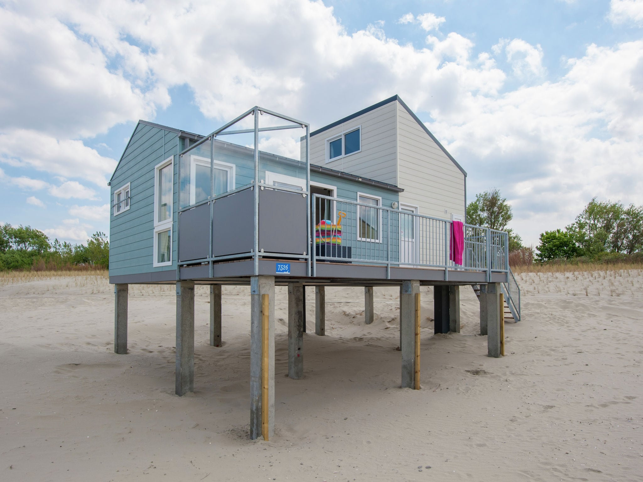 Holland | Zeeland | Holiday home Vakantiepark Beach Resort - Beach House 6-pers | all year | ExteriorSummer