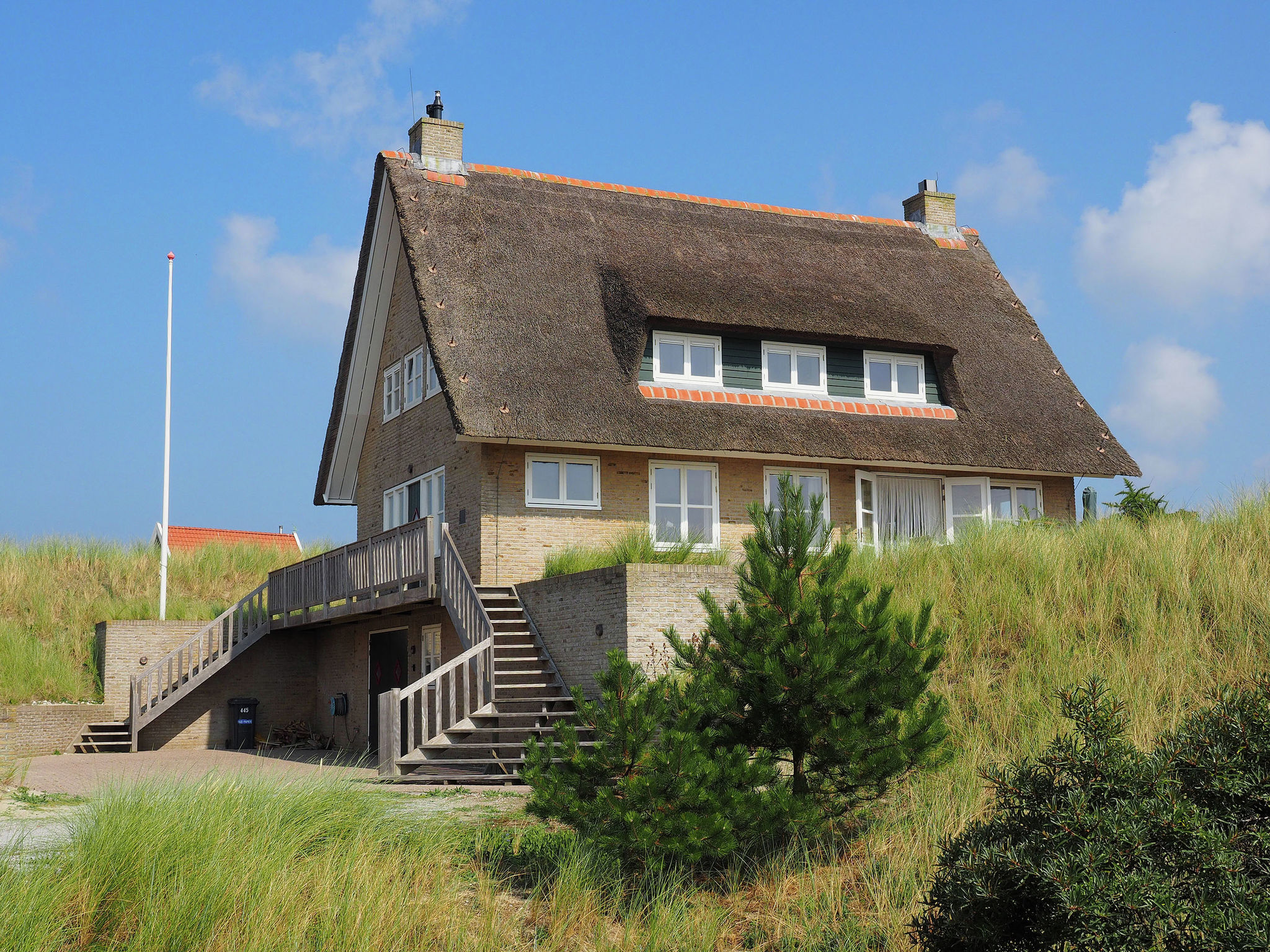 Holland | Wad Islands | Holiday home Duindroom op Terschelling | all year | ExteriorSummer