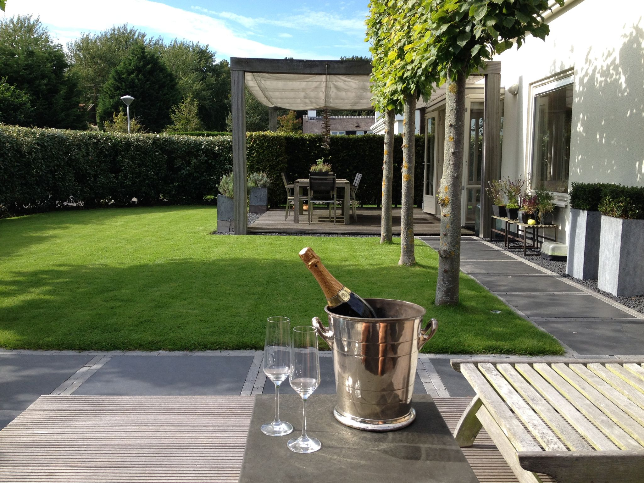 Holland | North Sea Coast South | Holiday home Villa Angelique | all year | TerraceBalcony