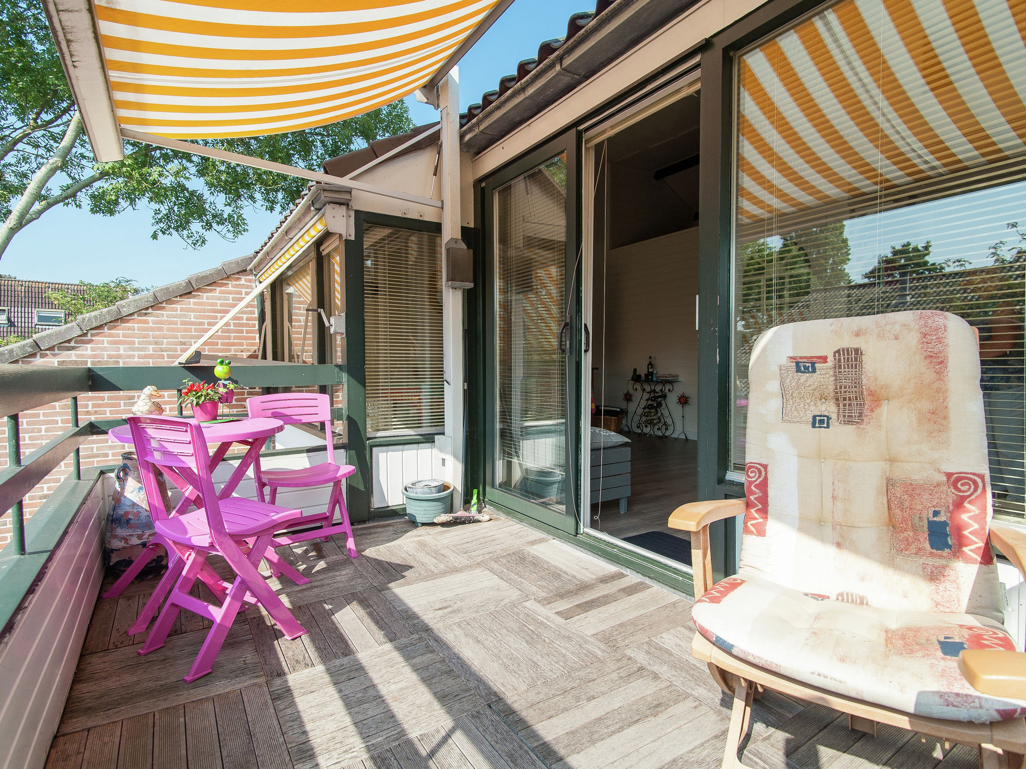 Holland | North Sea Coast North | Holiday home Gezellig Schagen | all year | TerraceBalcony
