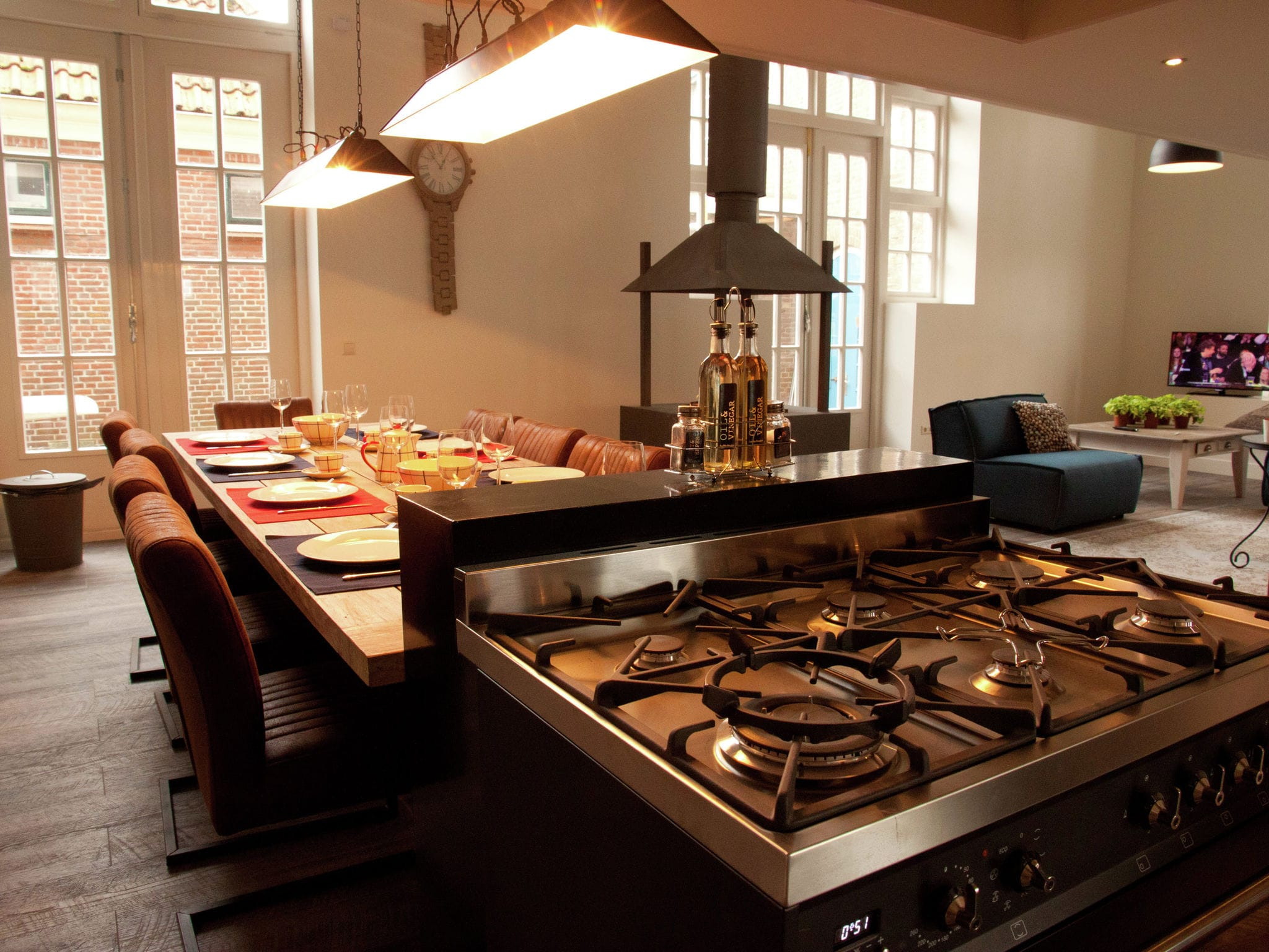 Holland | North Sea Coast North | Holiday home Loft Enkhuizen | all year | DiningRoom