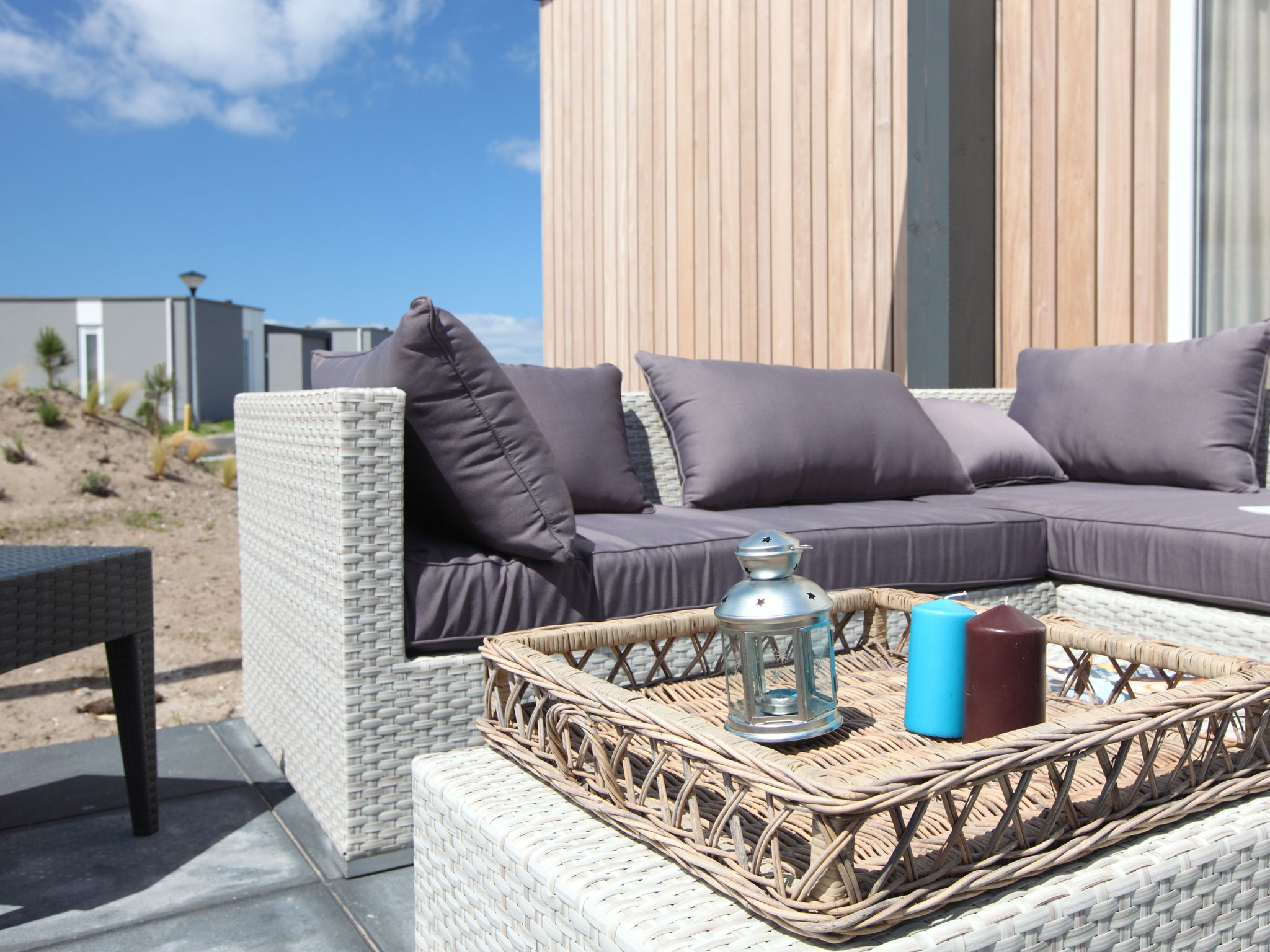 Holland | North Sea Coast North | Holiday home Callassande - Lodge Luxe 6B | all year | TerraceBalcony