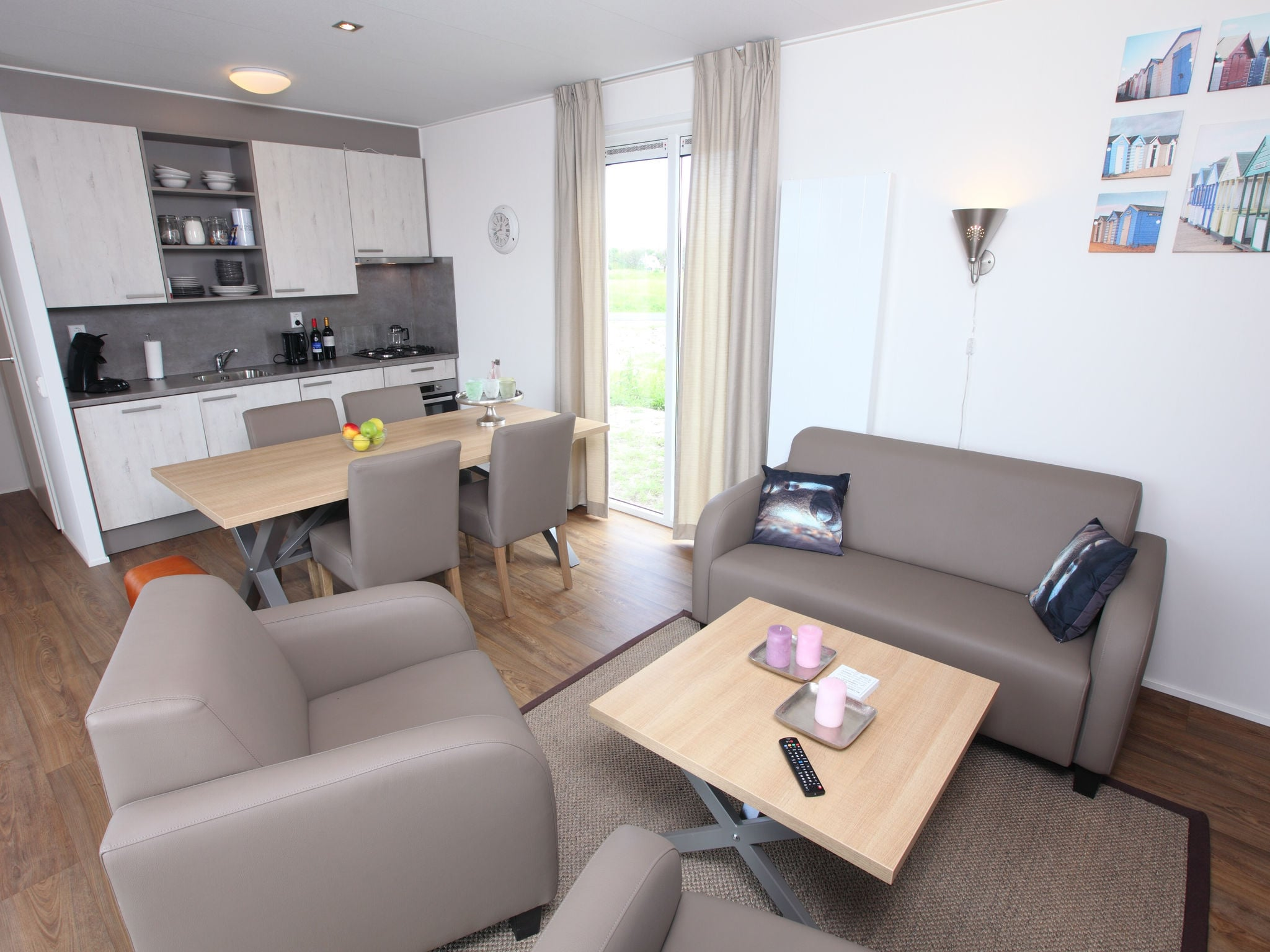 Holland | North Sea Coast North | Holiday home Callassande - Lodge Luxe 6B | all year | Kitchen