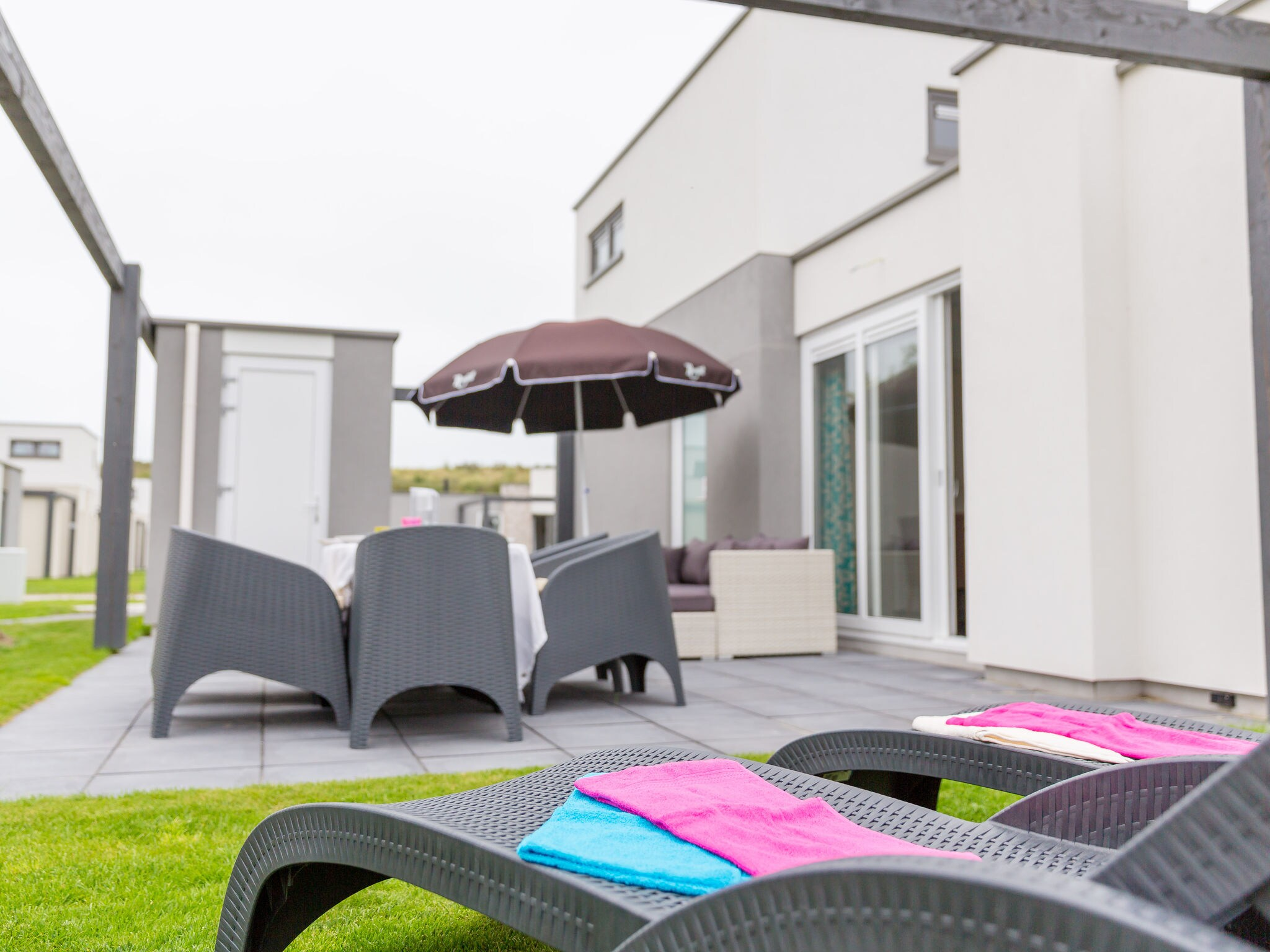 Holland | North Sea Coast North | Holiday home Callassande - Lodge Luxe 6B | all year | ExteriorSummer