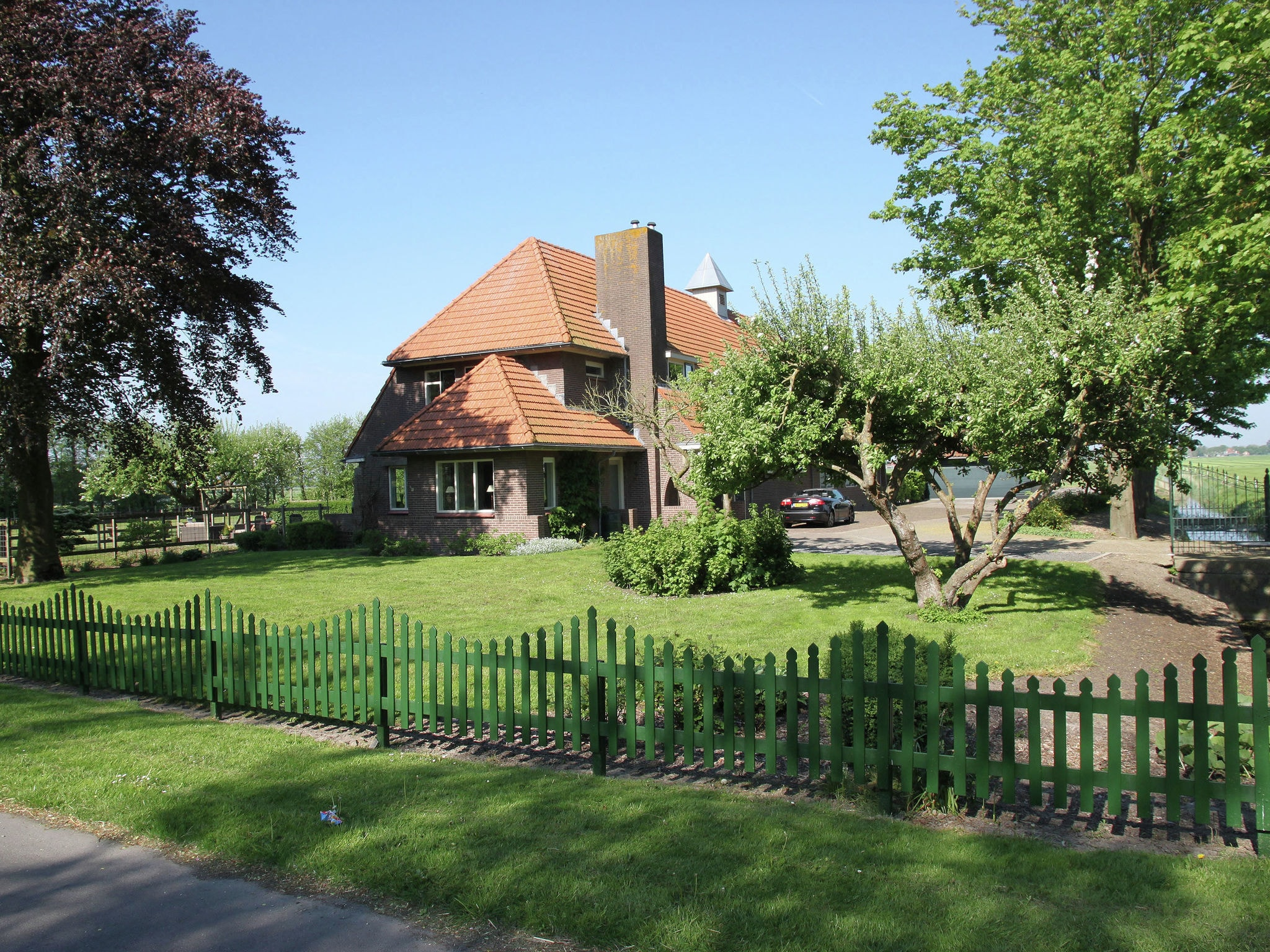 Holland | North Sea Coast North | Holiday home Landhuis Middenbeemster | all year | ExteriorSummer