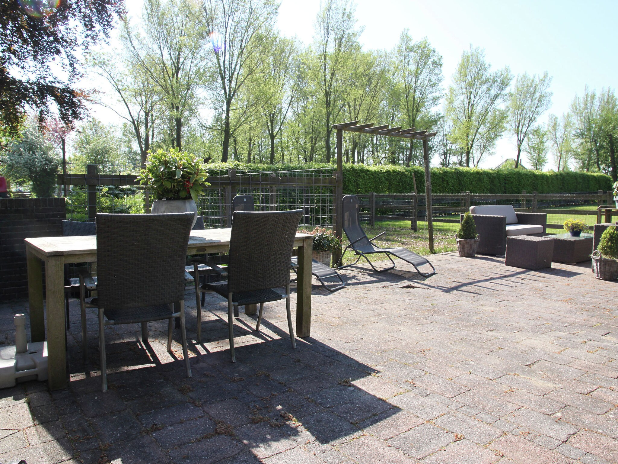 Holland | North Sea Coast North | Holiday home Landhuis Middenbeemster | all year | TerraceBalcony