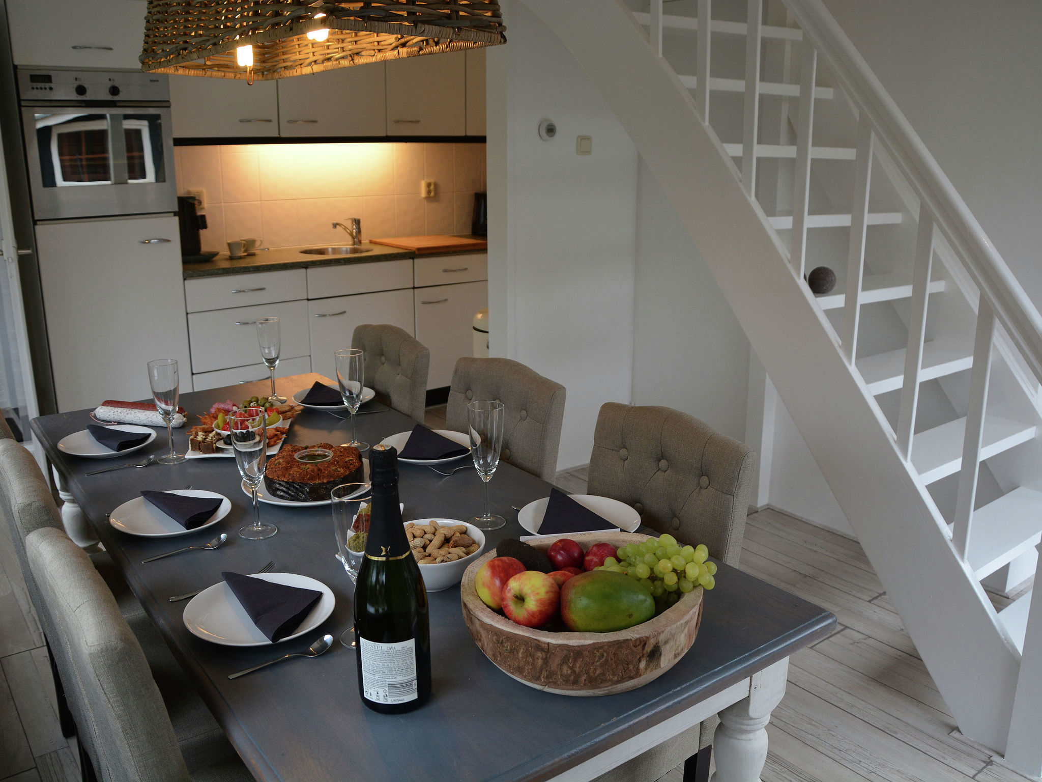 Holland | North Sea Coast South | Holiday home Strandlopertje | all year | Kitchen